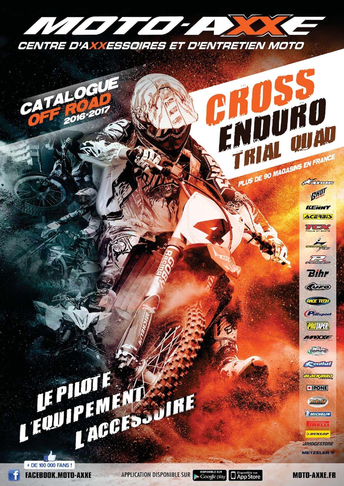 0b690789b12f0 Calaméo - Catalogue MOTO AXXE OFF ROAD 2016-2017