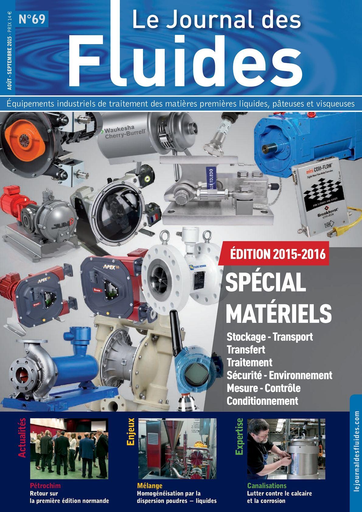 Sogal Traitement De Surface calaméo - le journal des fluides n°69 - août/septembre 2015