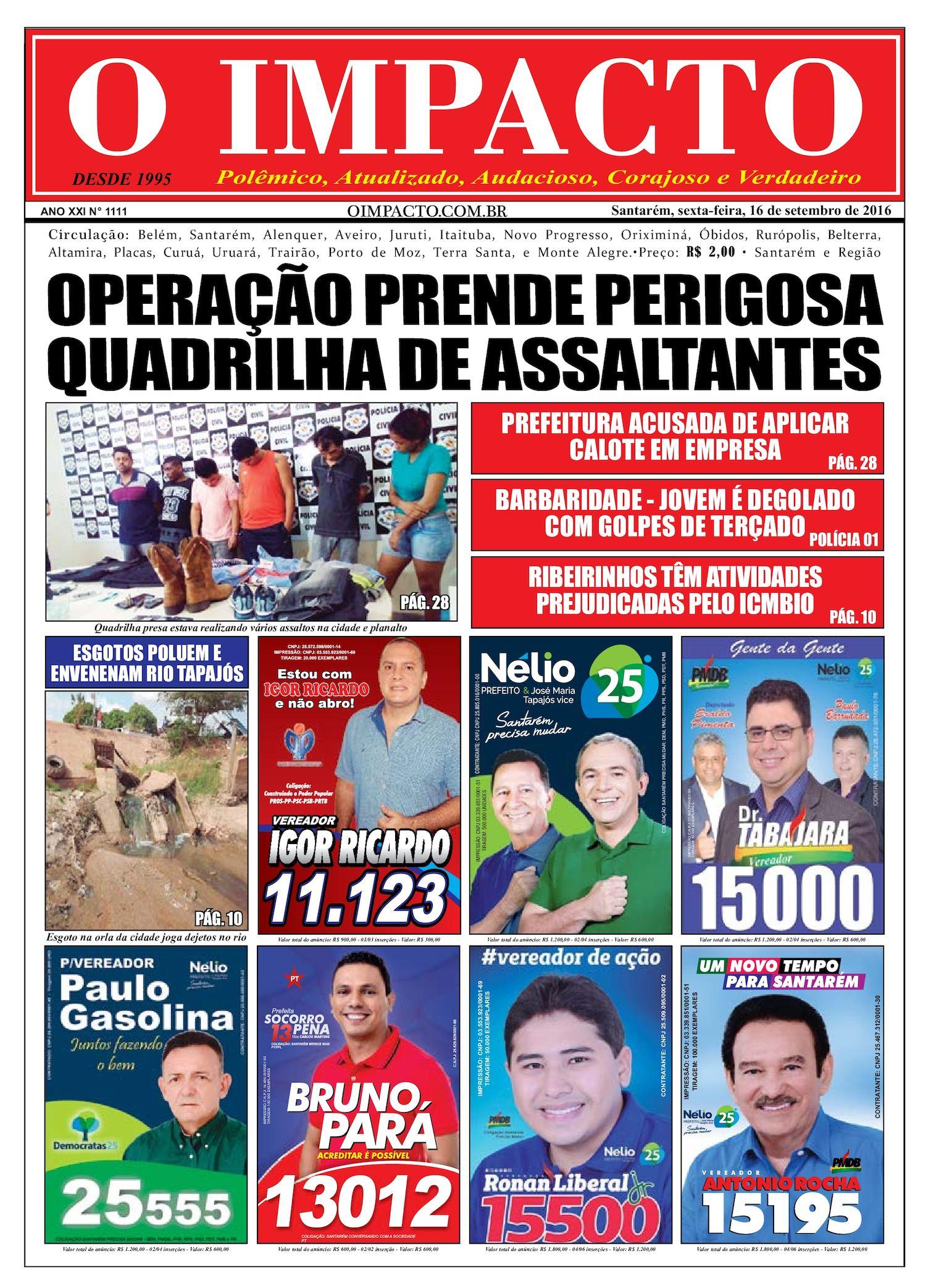 Calaméo - Jornal O Impacto Ed. 1111 9683ee9998d9b