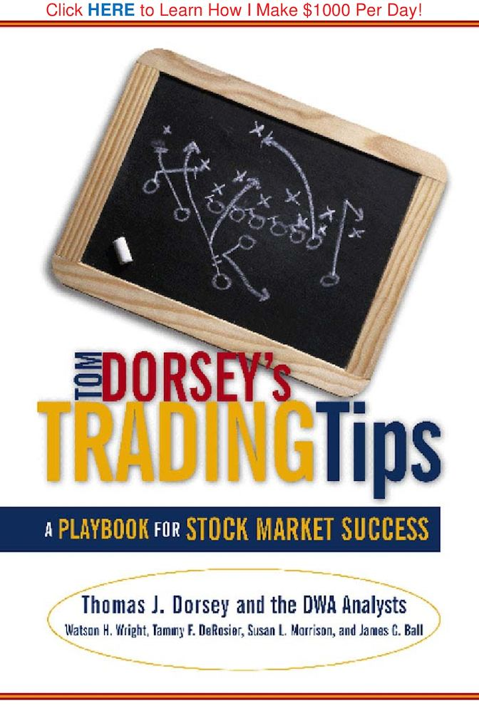 Calaméo - Tom Dorsey's Trading Tips - A Playbook For Stock Market
