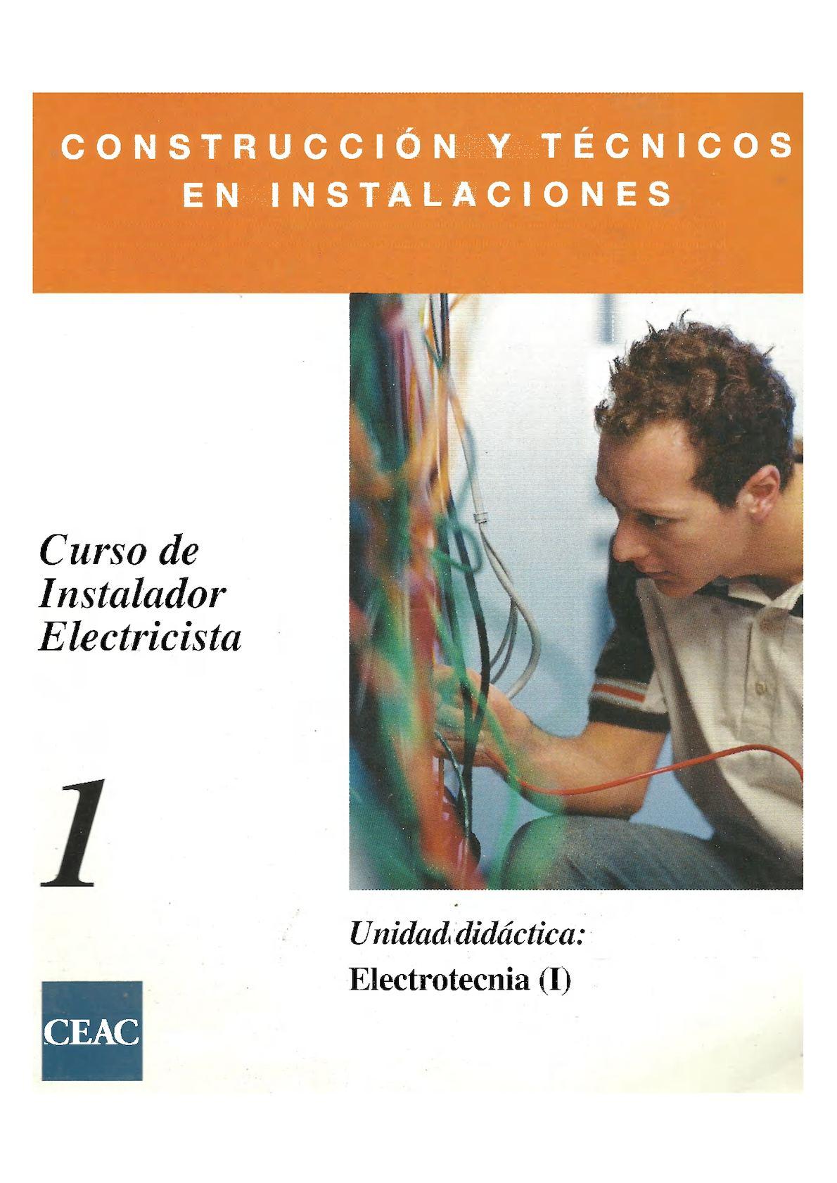 CURSO 1 - Electrotecnia ( I ) - VAF