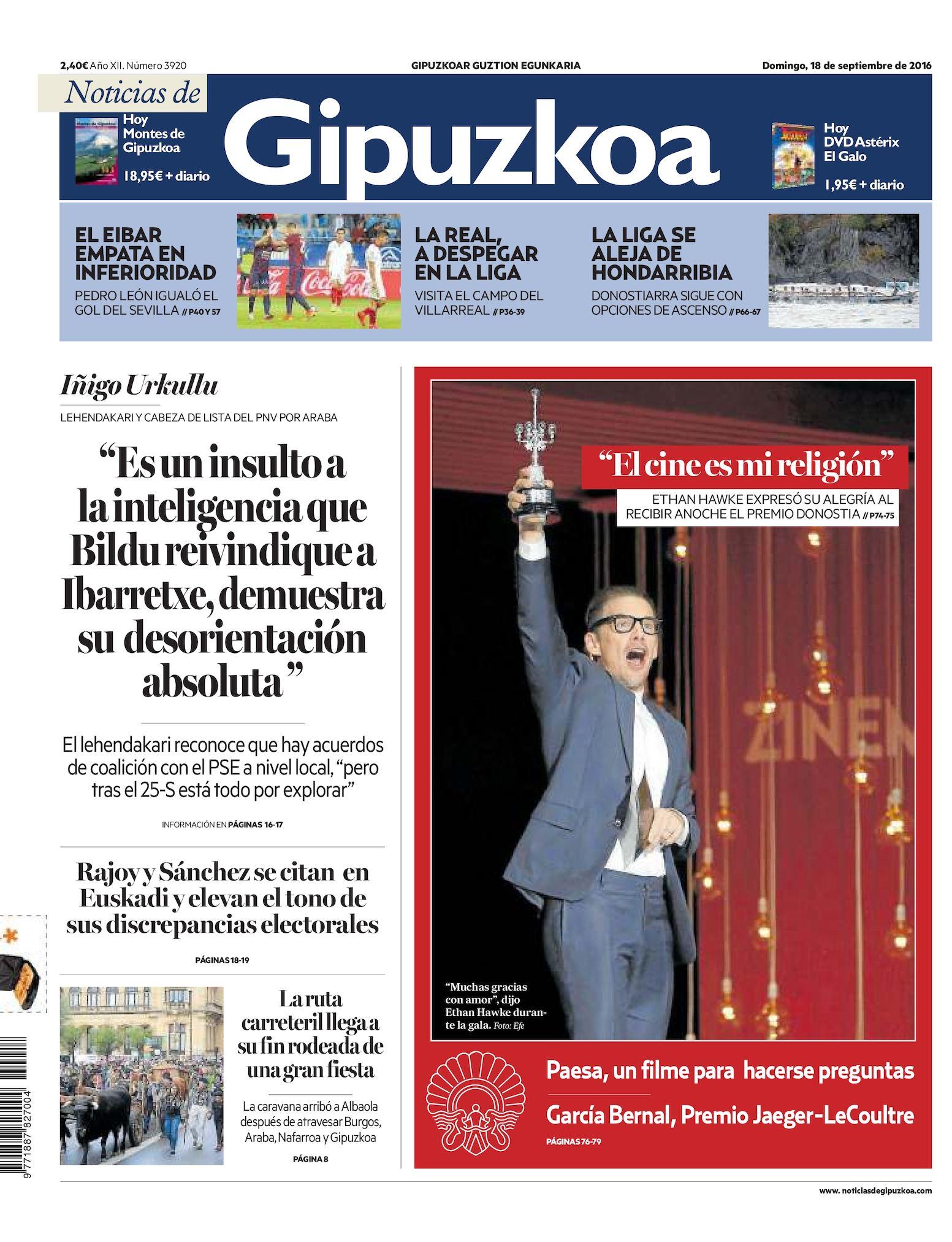 b42787e02 Calaméo - Noticias de Gipuzkoa 20160918