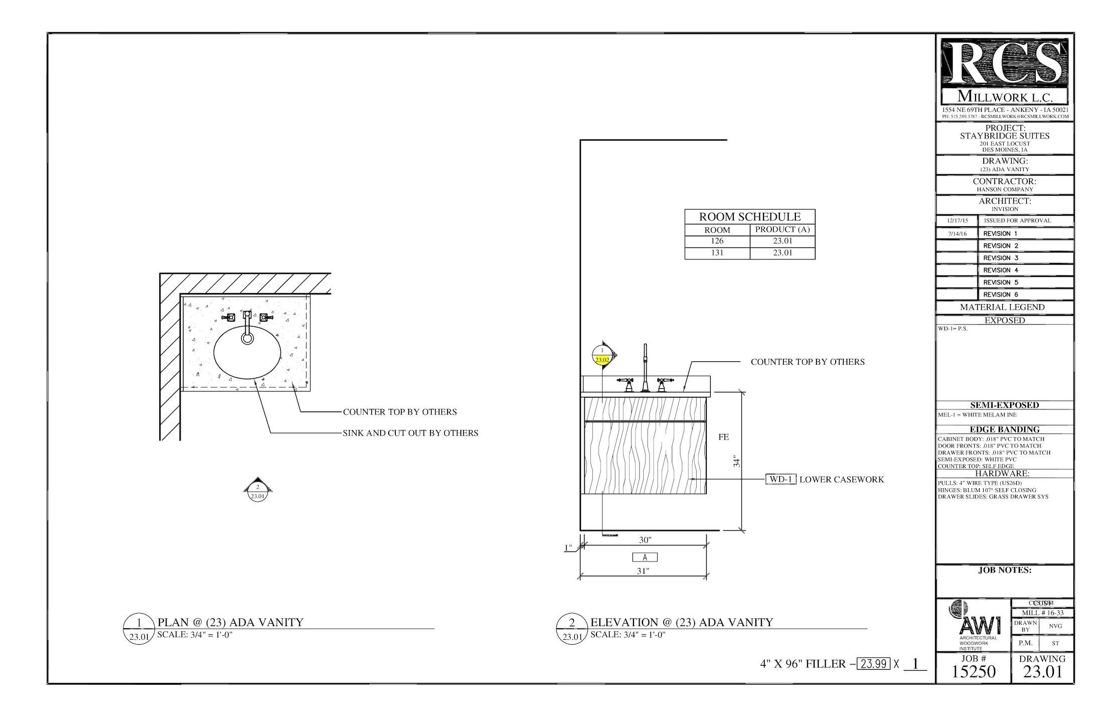 Calam 233 O Shop Drawings 15250f