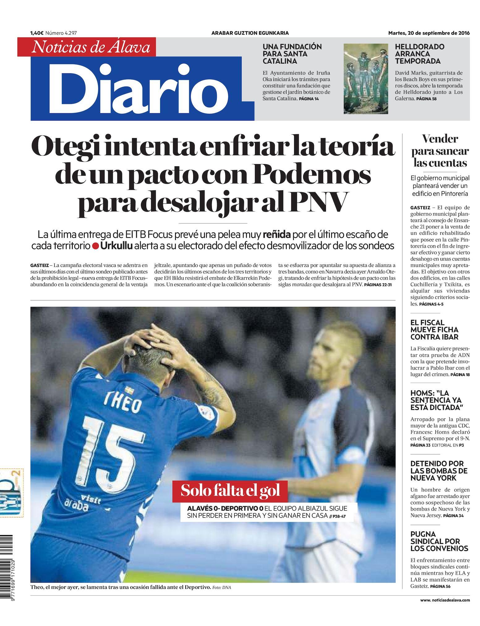Calameo Diario De Noticias De Alava 20160920