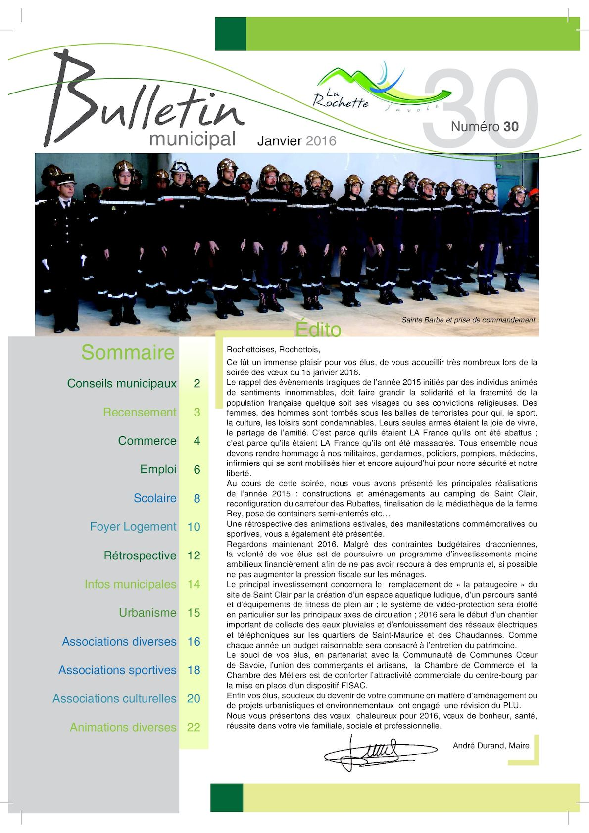 Vision Unik La Rochette calaméo - bulletin municipal la rochette janvier 2016