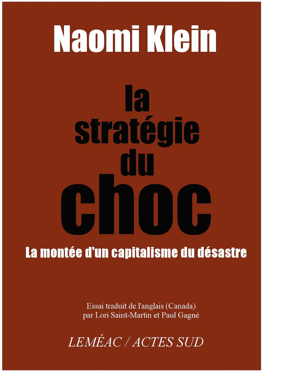 buy online 6916b dcbc8 Calaméo - Naomi Klein   la stétégie du choc (2007)