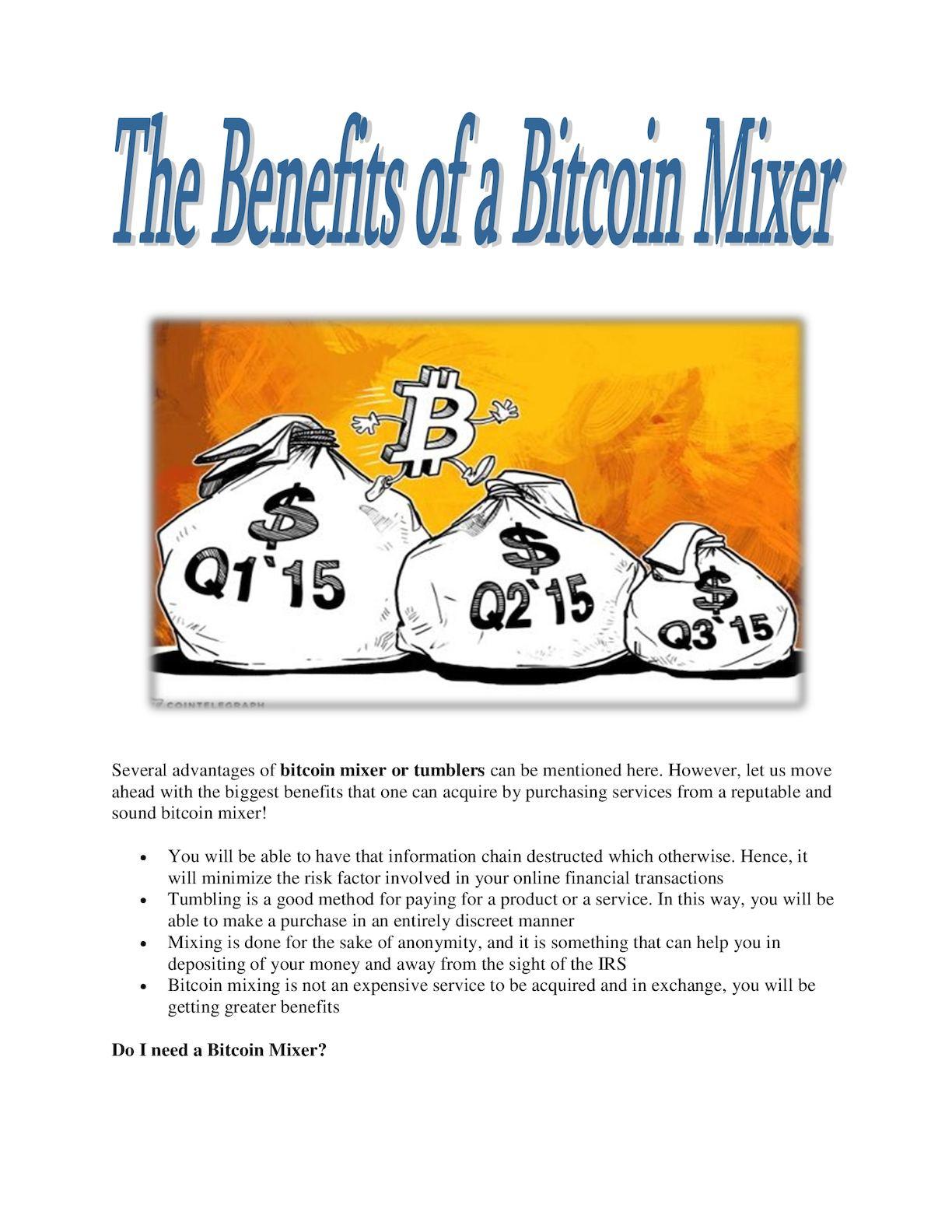 Sind Bitcoin-Mischer legal