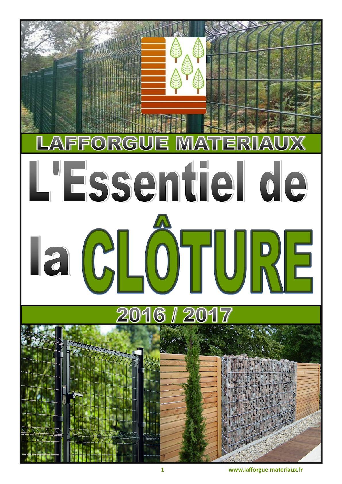 Prix D Un Mur De Cloture En Plaque De Beton calaméo - catalogue clôtures