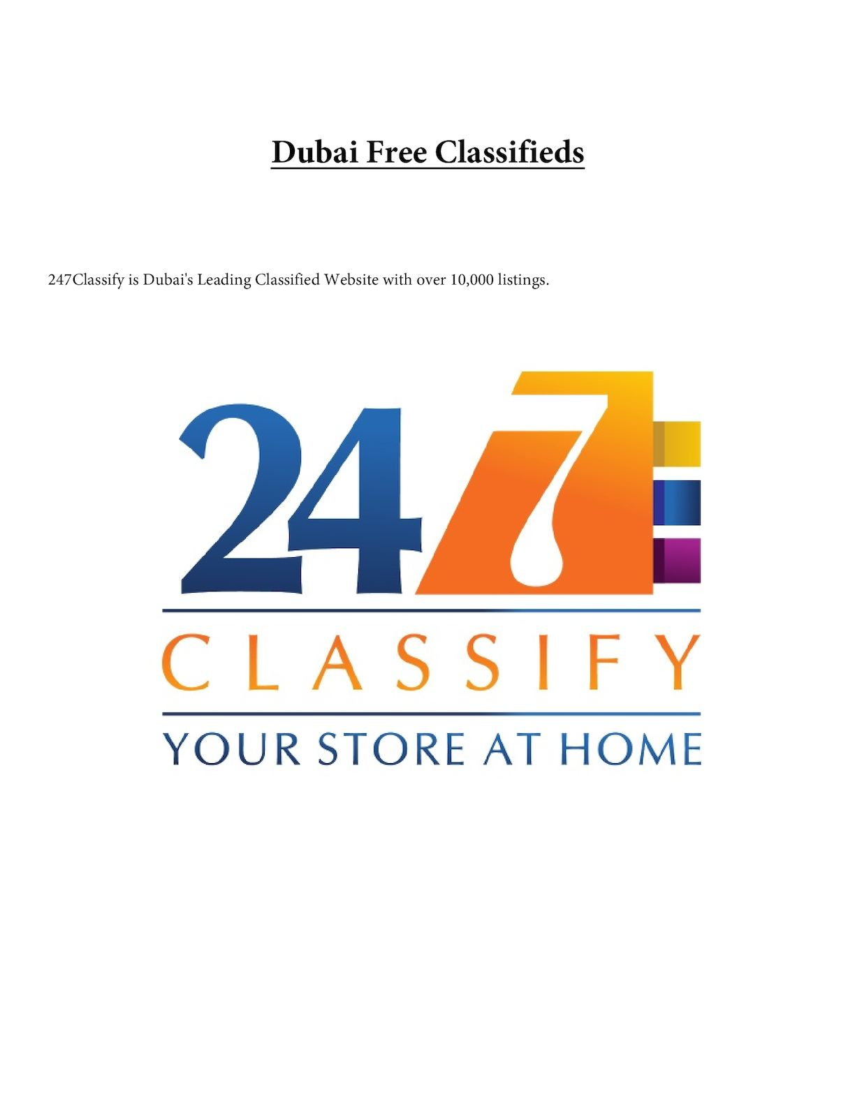 Calaméo - Dubai Free Classifieds