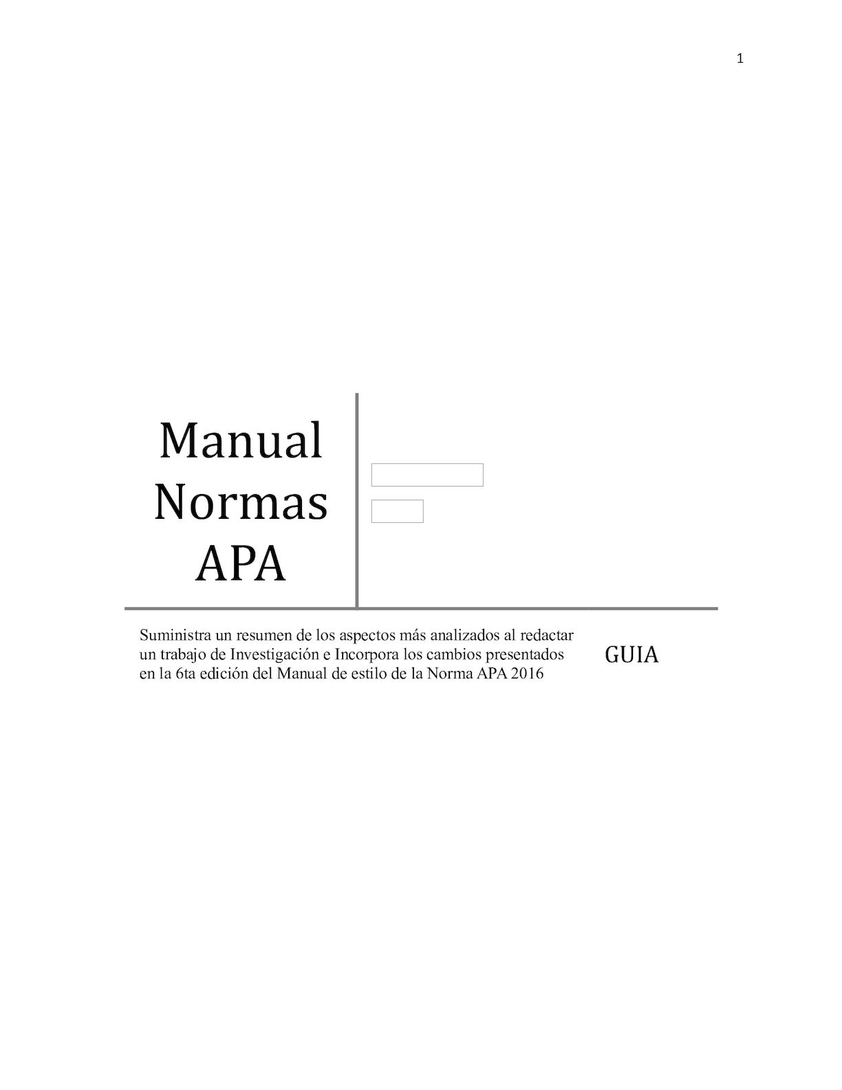 Calamo Manual Normas Apa 1