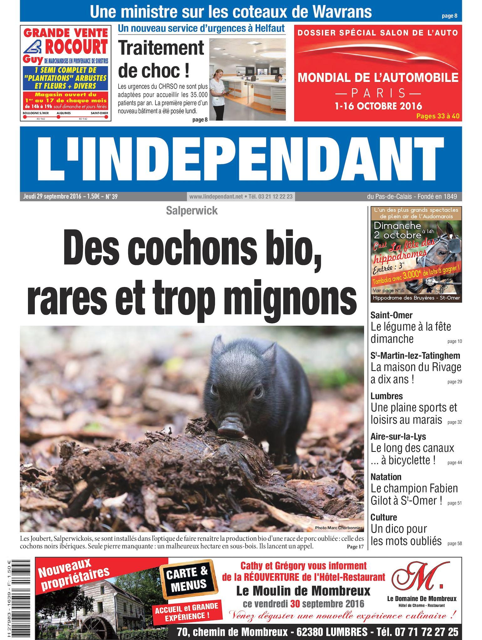 Calaméo - L indépendant Semaine 39 2016 58f5e94745b0
