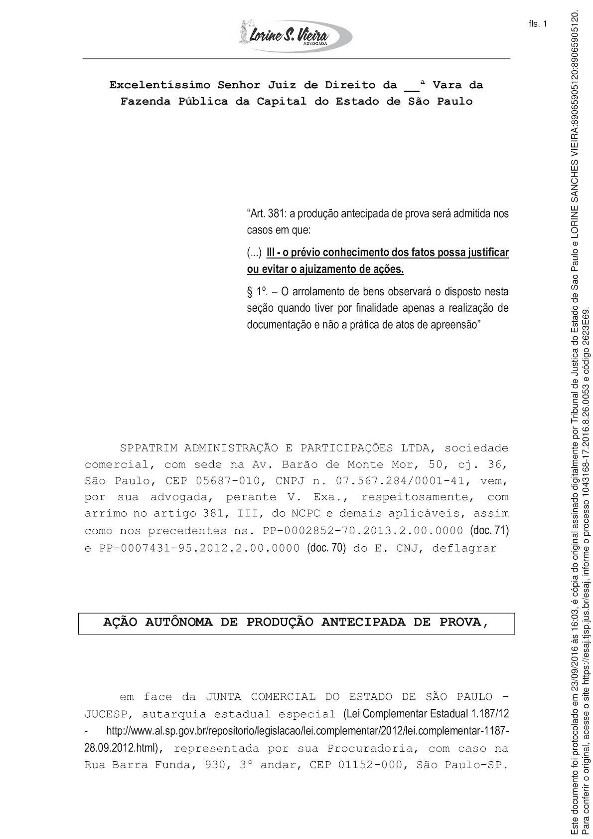 Doc 48 Fraudes No Sistema Da Jucesp São Objeto De Ação Com Liminar Deferida