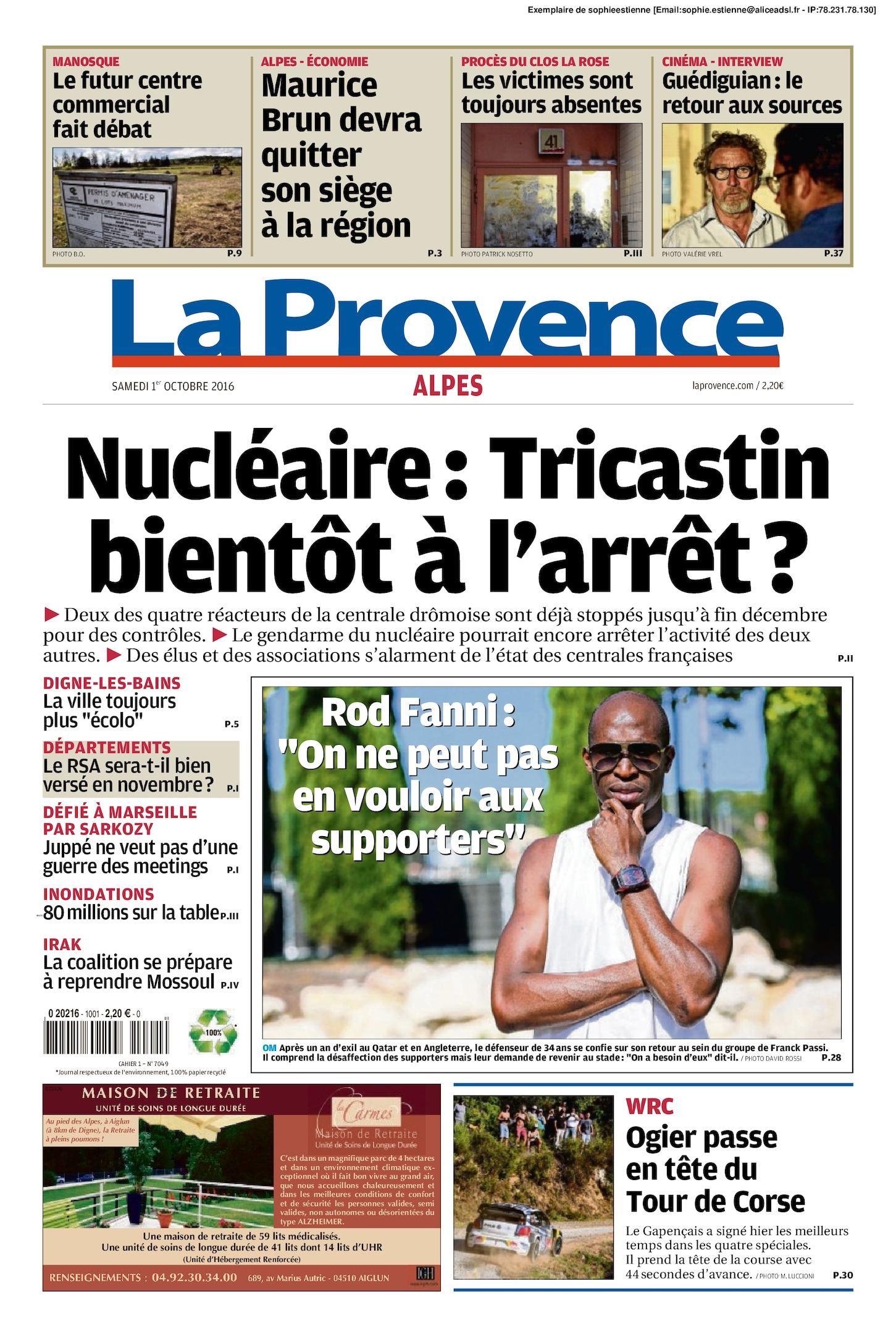 10 Edition Alpes 2016 Calaméo 01 Du Provence La 1cJFKl