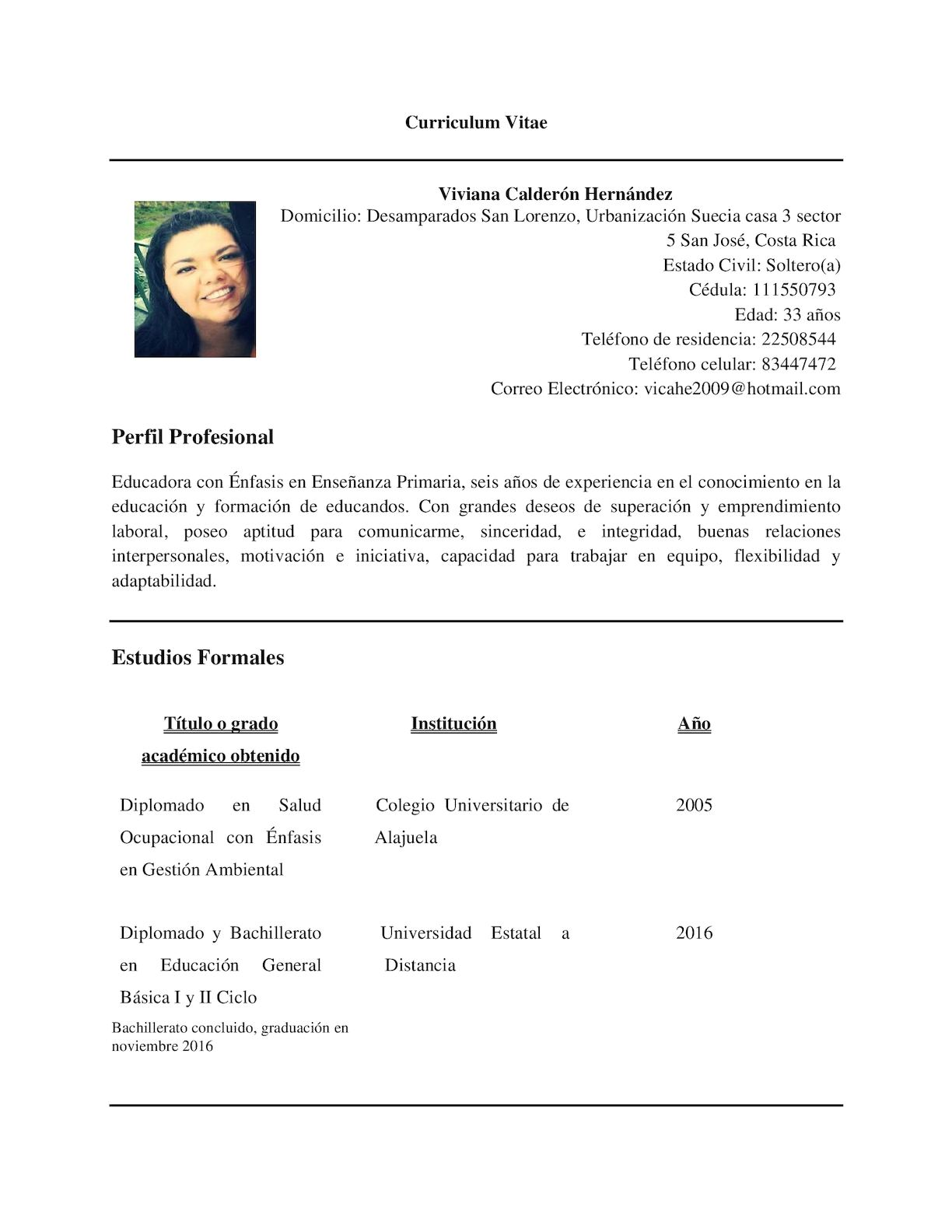 Calameo Curriculum Vitae