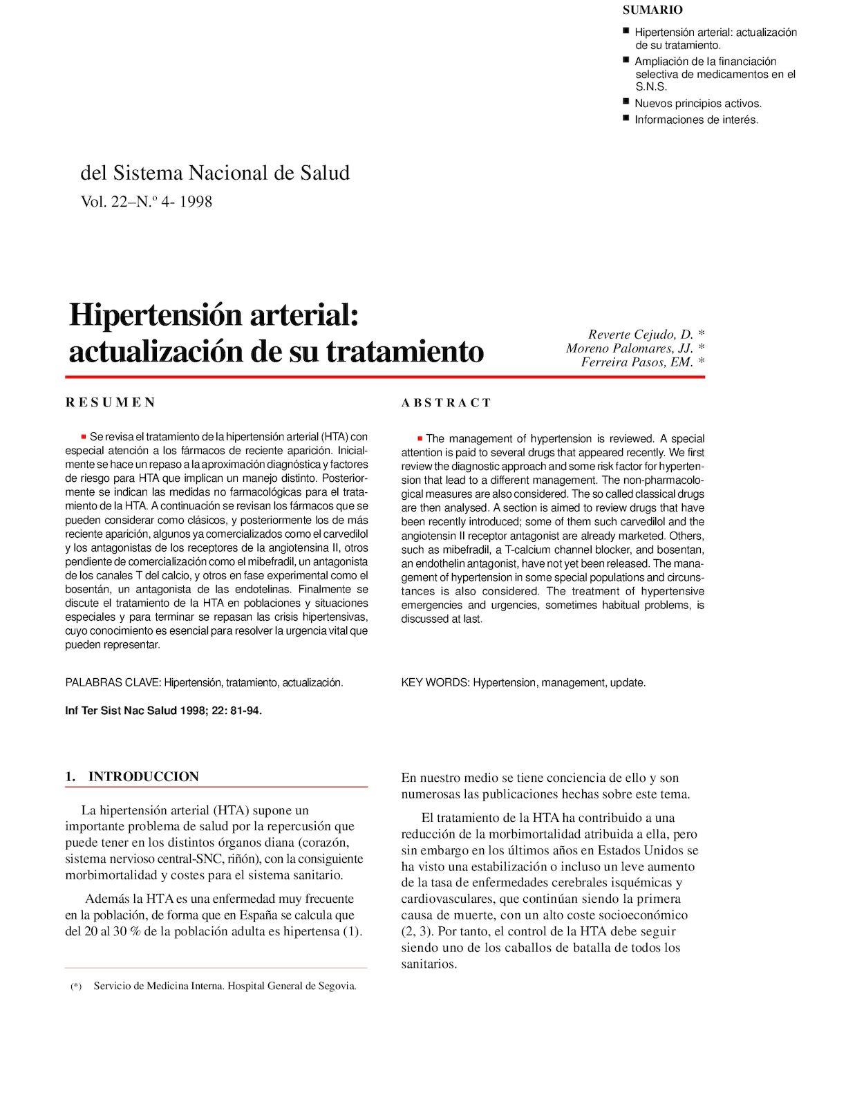 Medicamento para la hipertensión endotelina 1