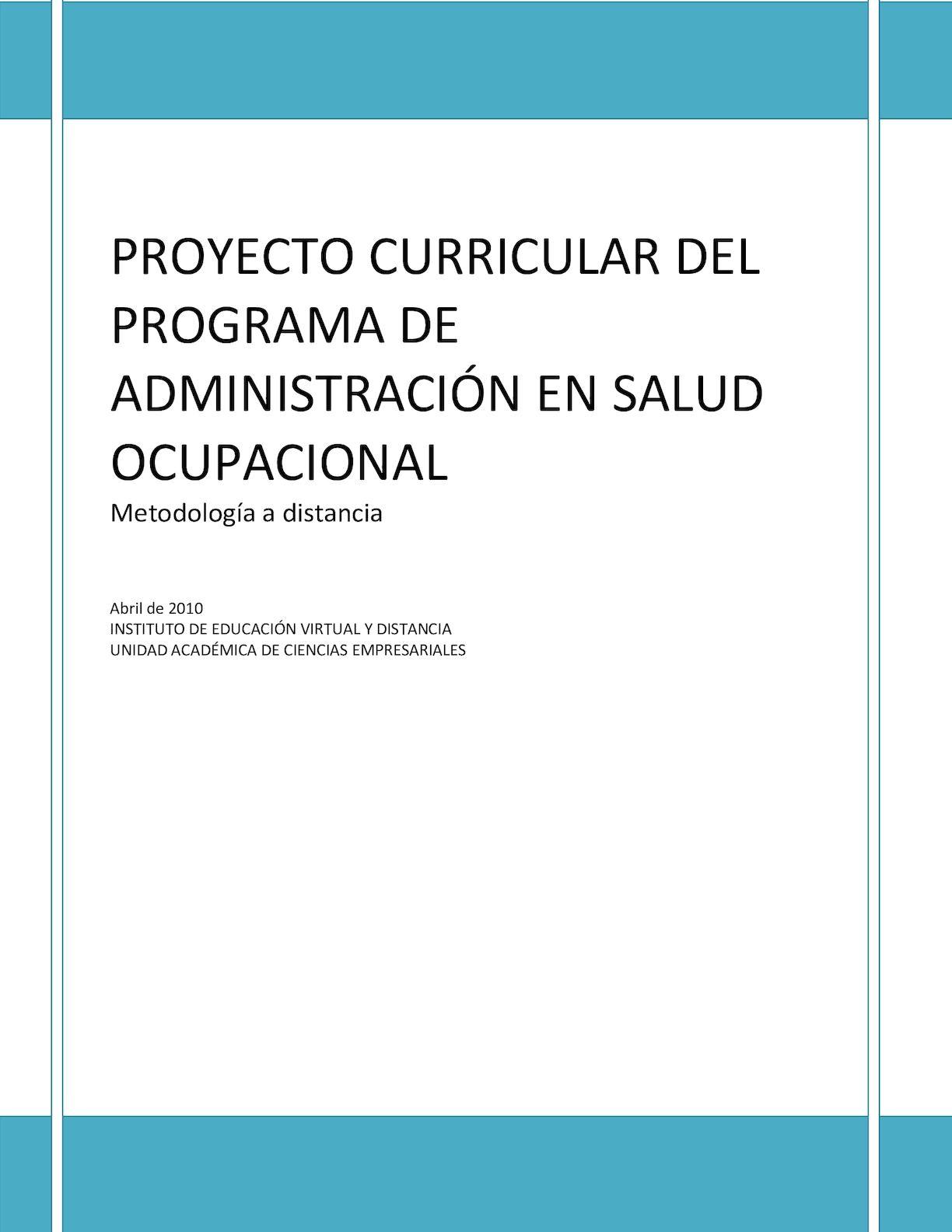 Calaméo Documento Maestro Administracion En Salud