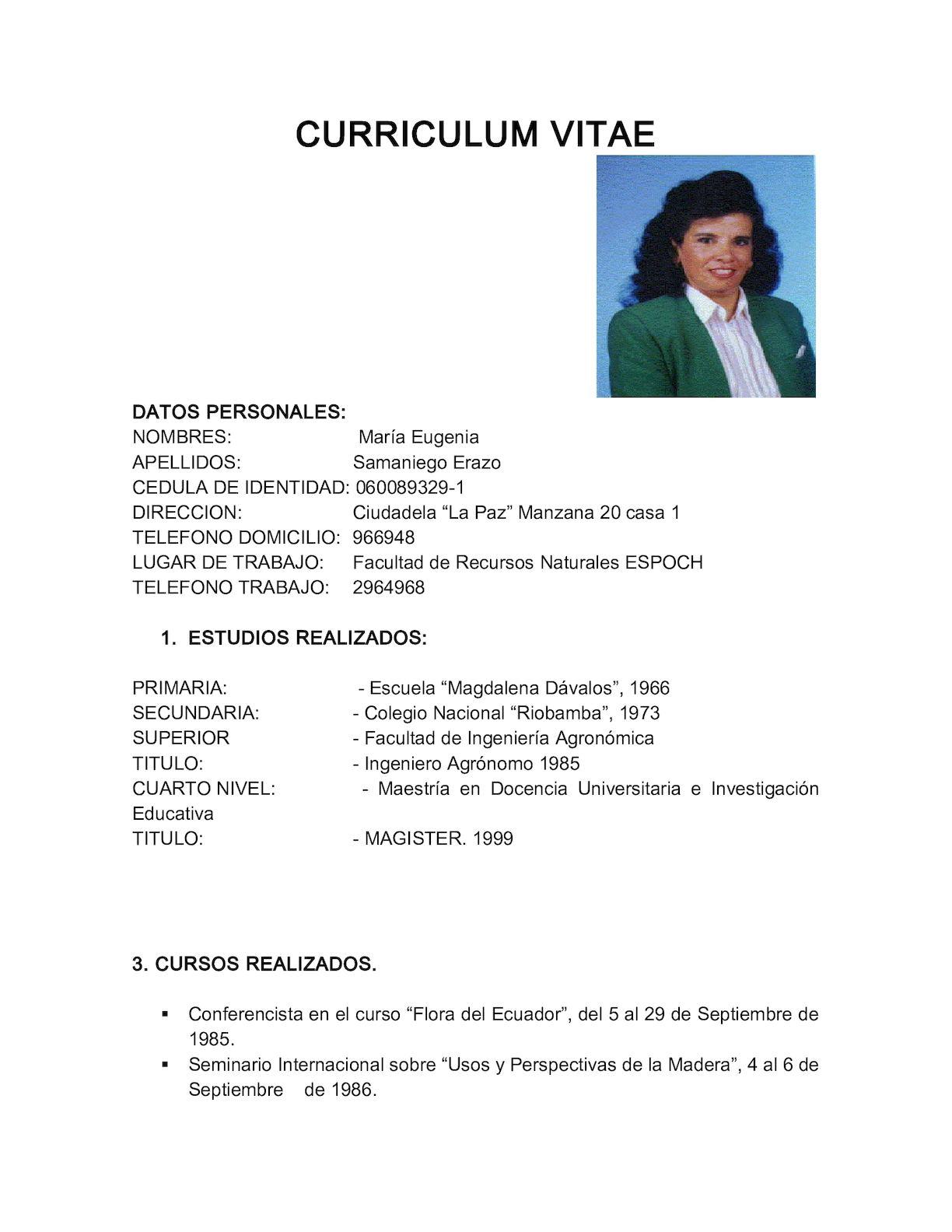 Calameo Curriculum Vitae Actual