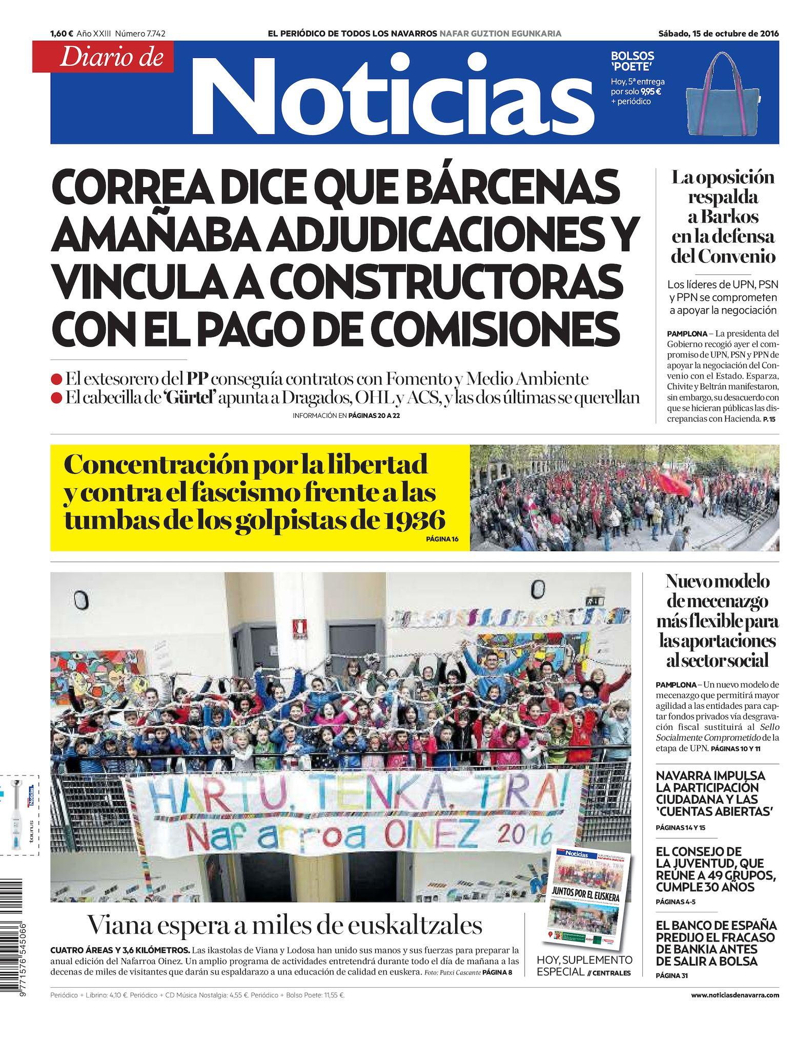 De Calaméo Diario Calaméo Noticias Diario 20161015 De 5AR4jq3L