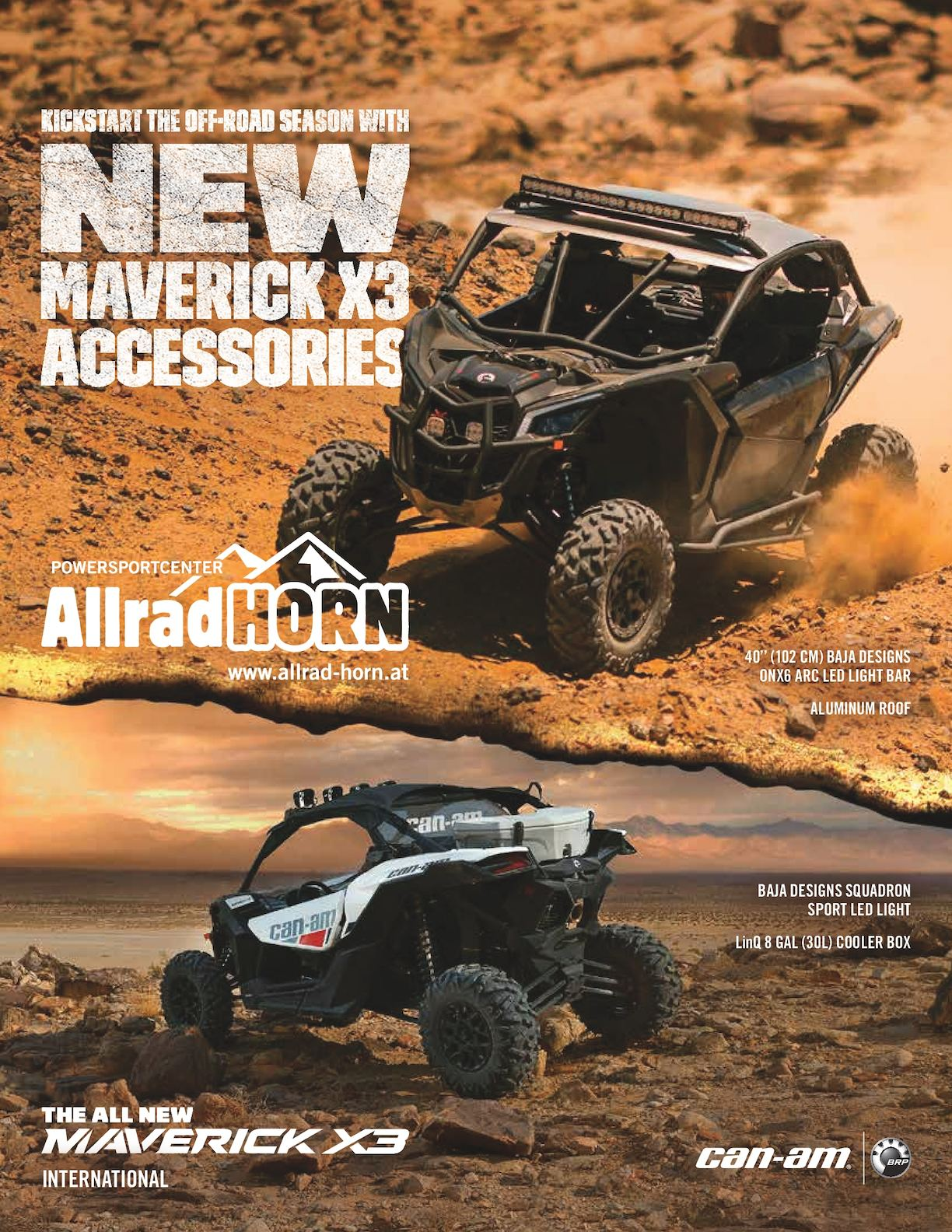 Calam 233 O Can Am Maverick X3 Zubehoer