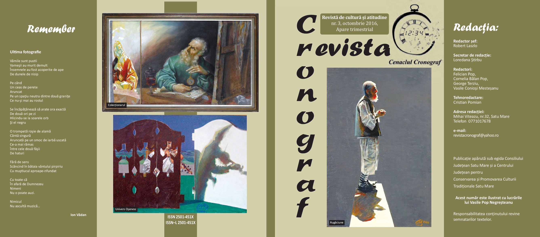 Calaméo - Revista Cronograf Nr3 Online
