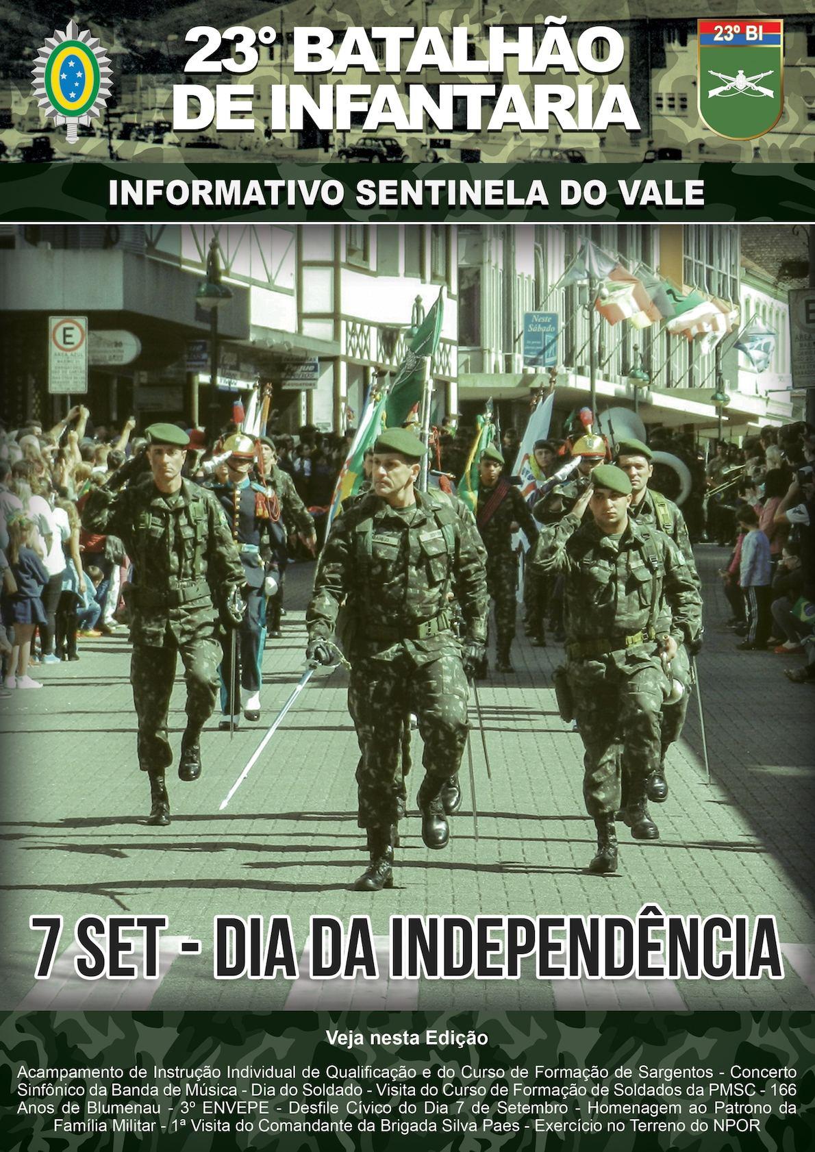 02947090c1 Calaméo - Informativo Nr 13 Ano 2 Agosto e Setembro por 23° Batalhão de  Infantaria