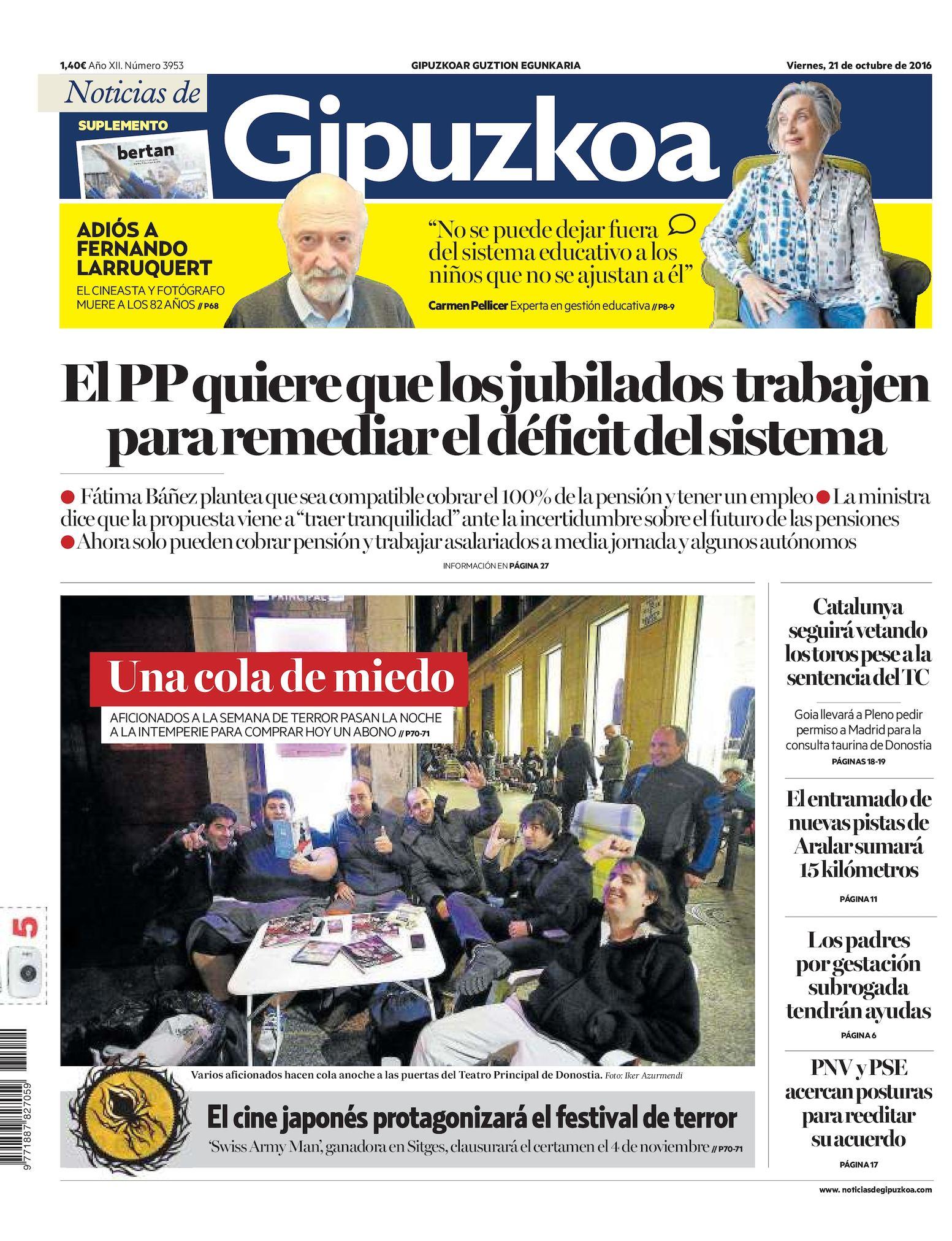 fdbbddfaeb Calaméo - Noticias de Gipuzkoa 20161021