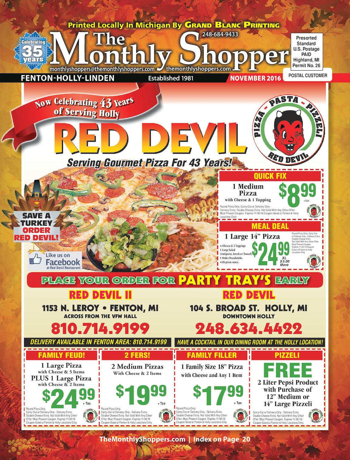 pizza plus linden coupons