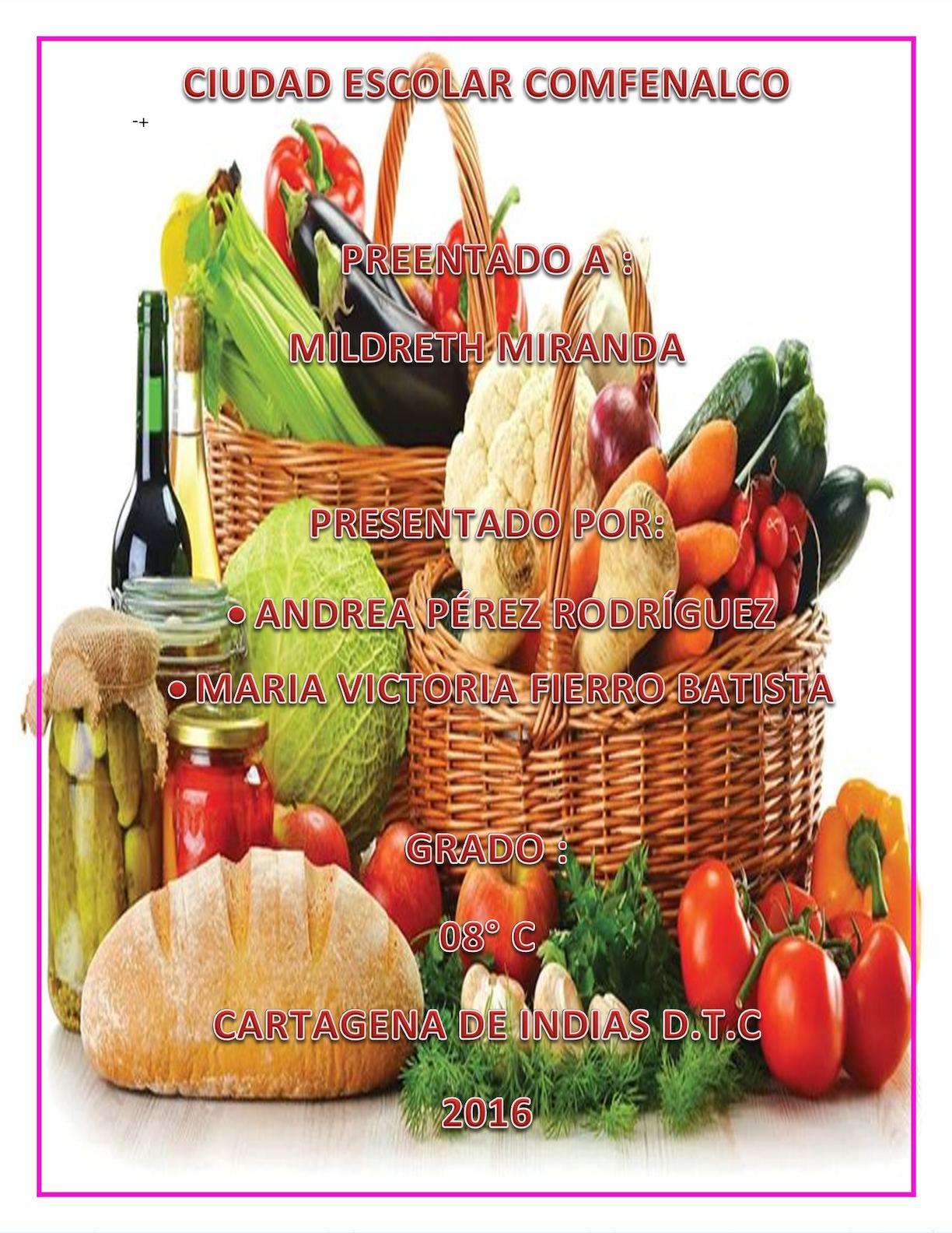 Los Alimentos Organicos V A Tecno