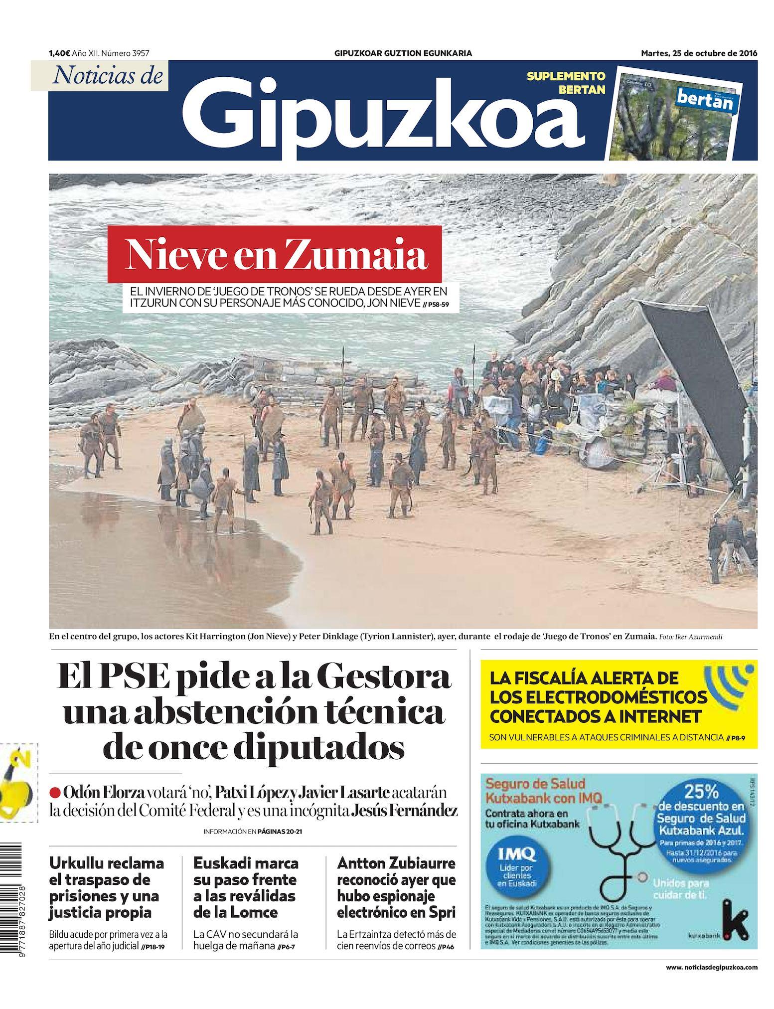 bc25e4f2950 Calaméo - Noticias de Gipuzkoa 20161025