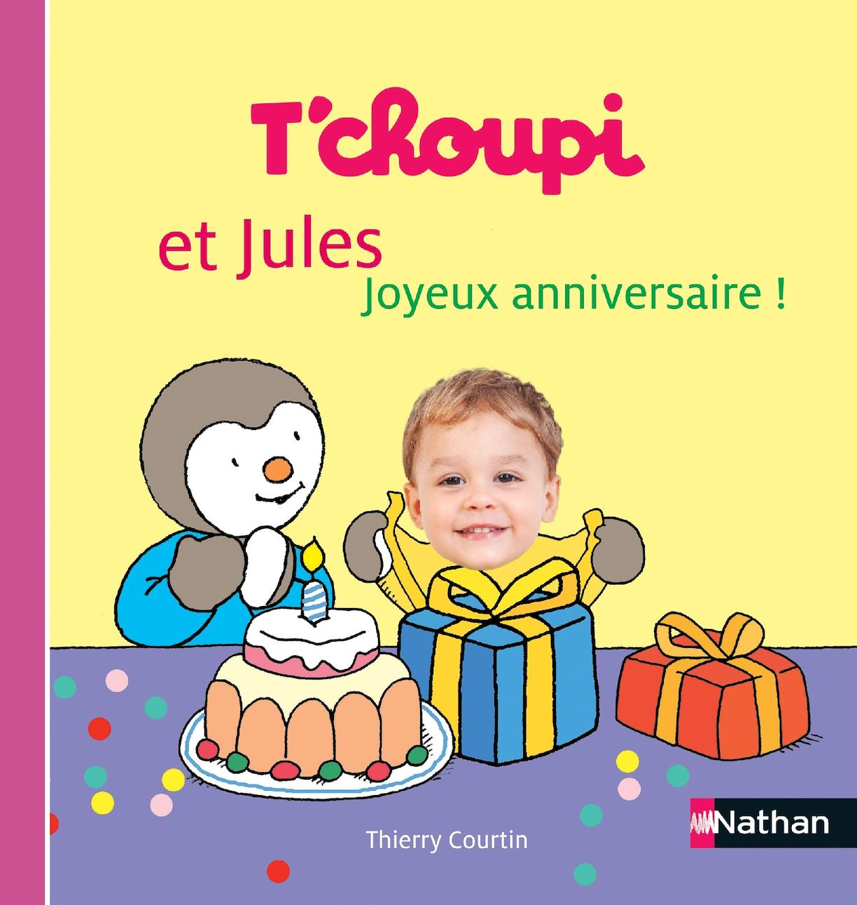 Tchoupi Et Moi Joyeux Anniversaire Livre Personnelise