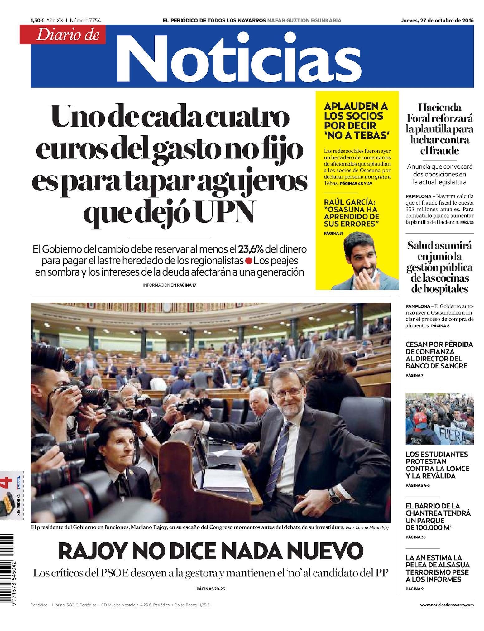 huge discount f1106 36617 Calaméo - Diario de Noticias 20161027