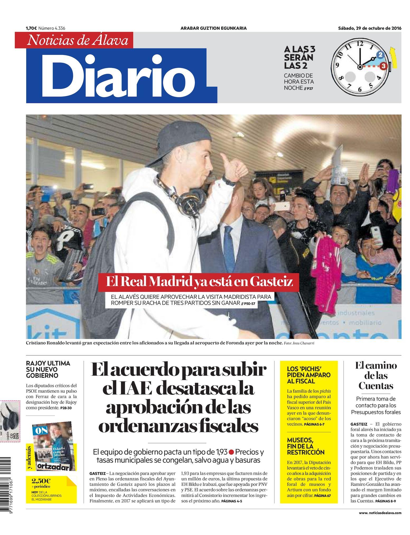 Calaméo - Diario de Noticias de Álava 20161029