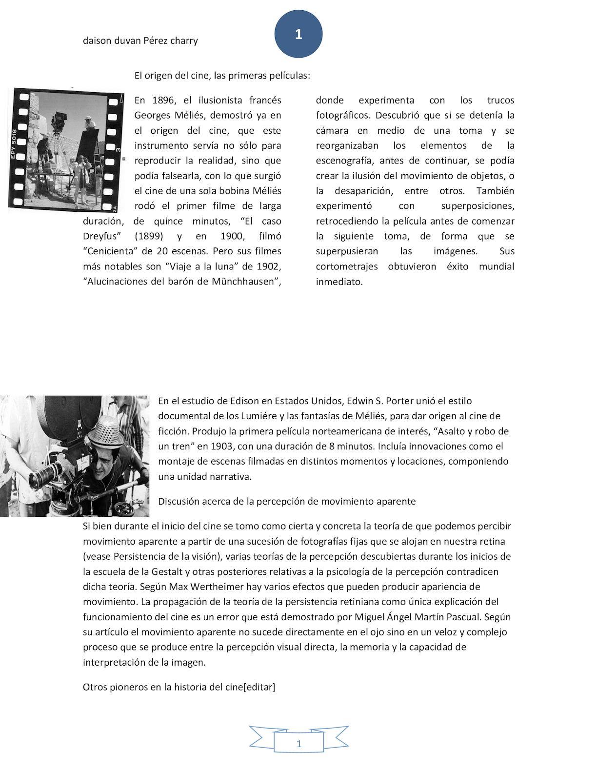 b8e8315e0 Calaméo - Historia De Cine Daison 1