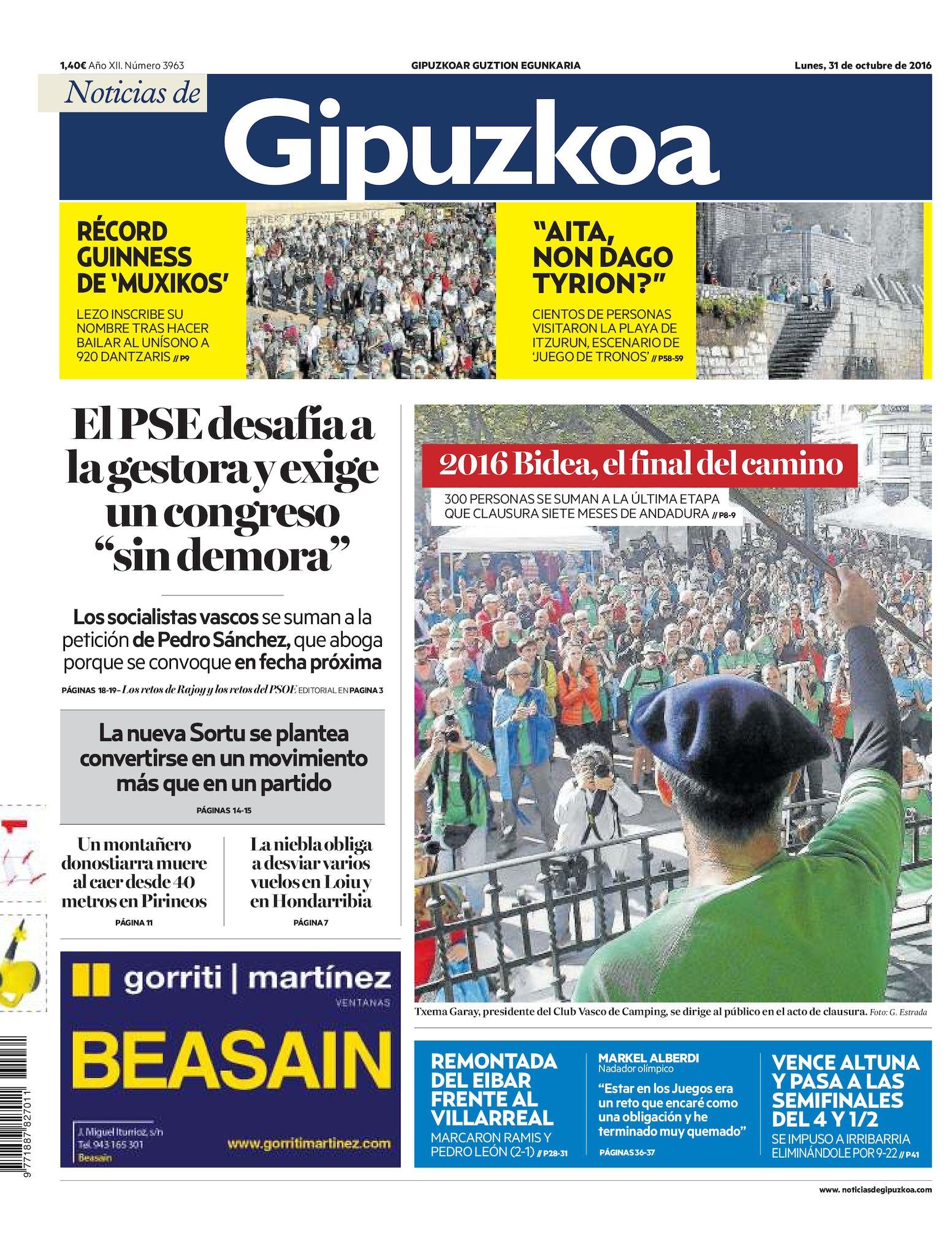 a6ce261fa7c Calaméo - Noticias de Gipuzkoa 20161031