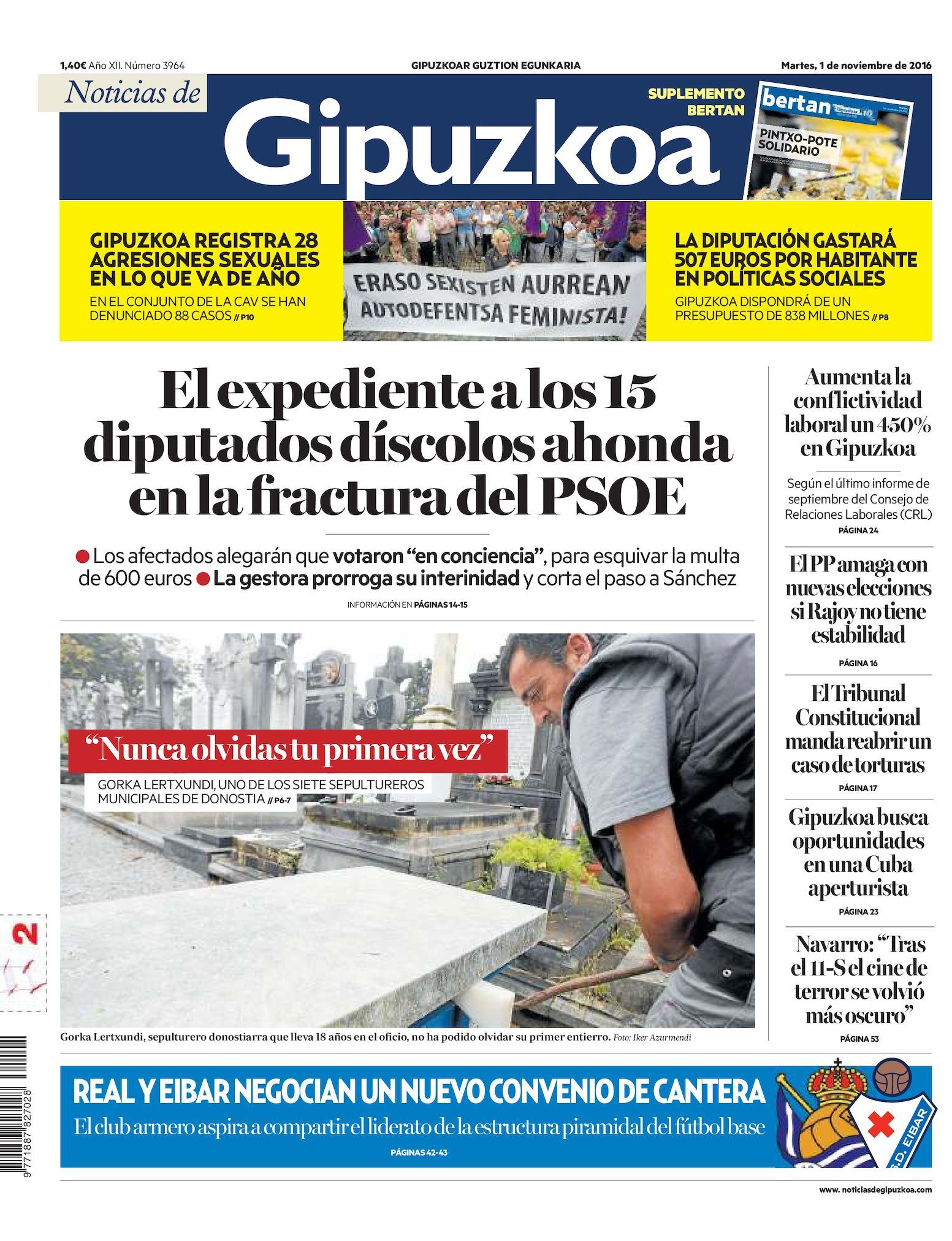 Calaméo Noticias De Gipuzkoa 20161101
