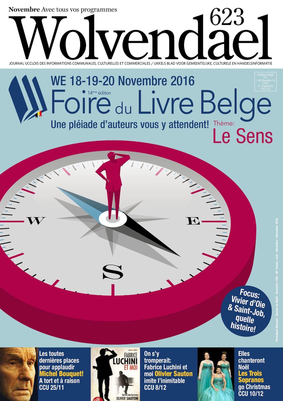 Calaméo Wolvendael Magazine N 623 Novembre 2016