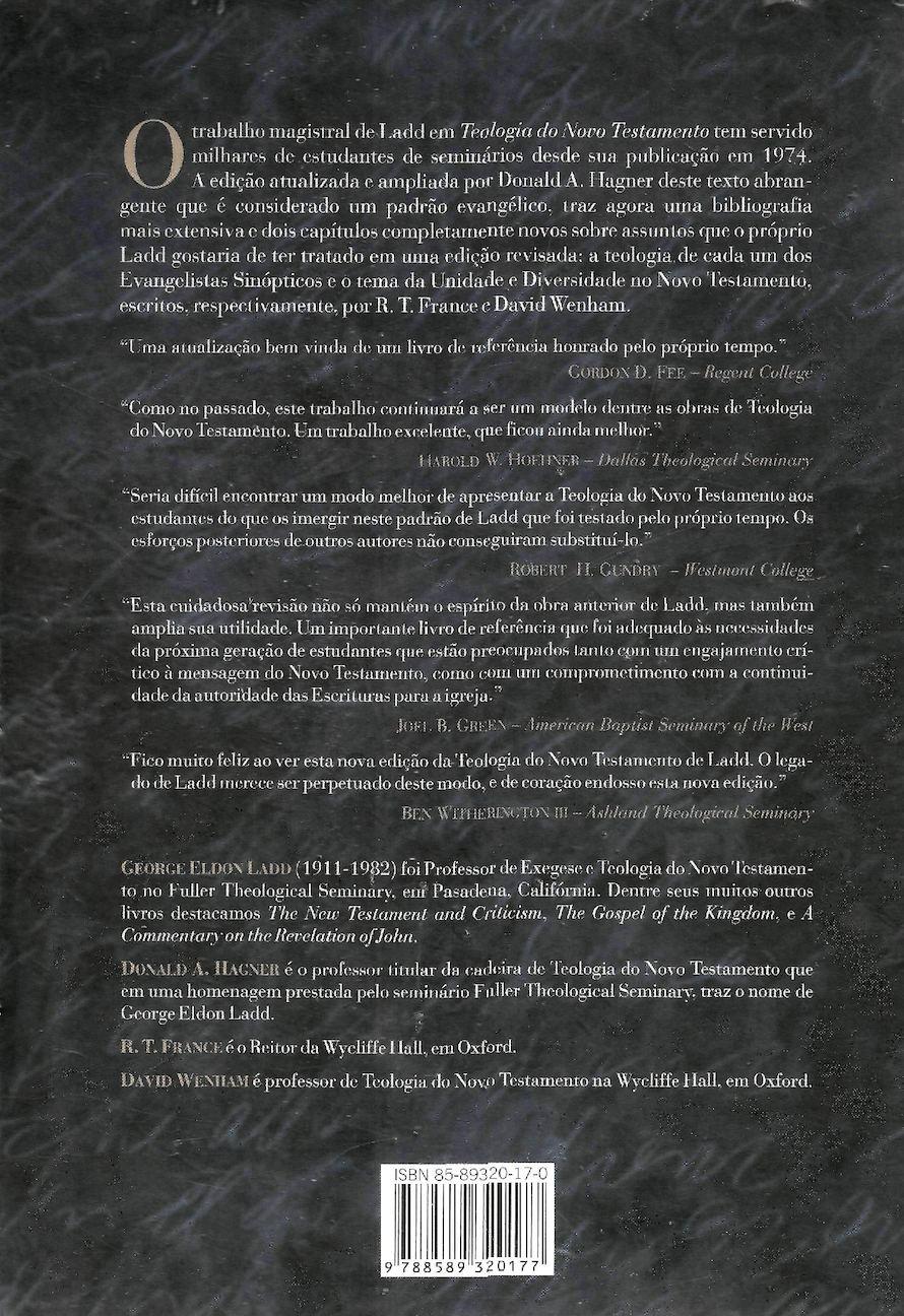 teologia do novo testamento george eldon ladd