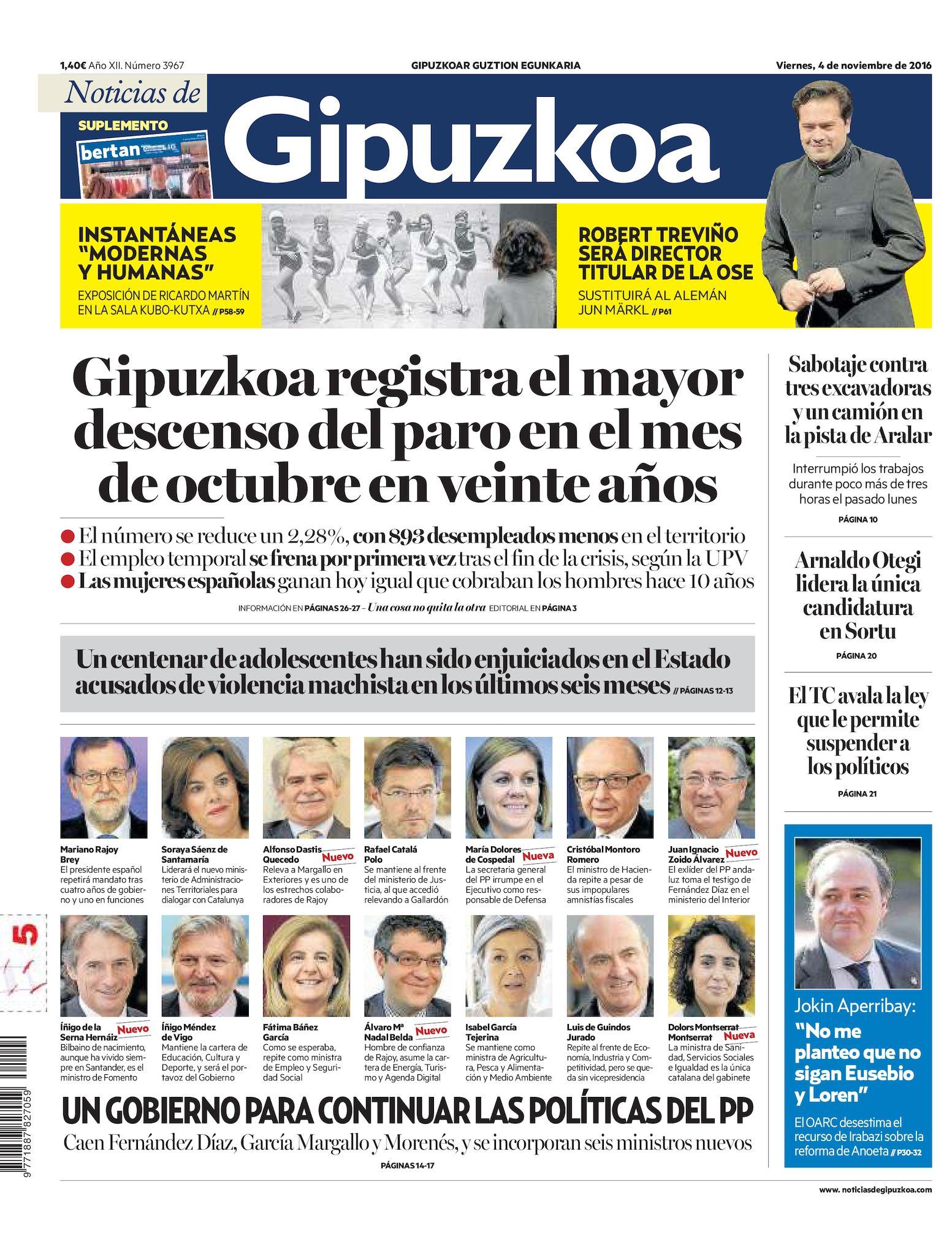 finest selection 007a8 f4991 Calaméo - Noticias de Gipuzkoa 20161104