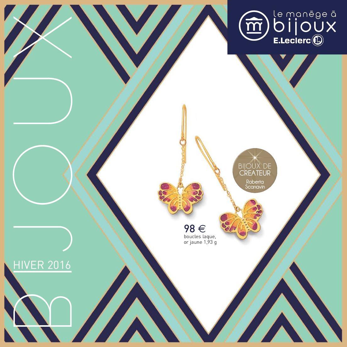 Catalogue Manège à Bijoux Hiver 2016