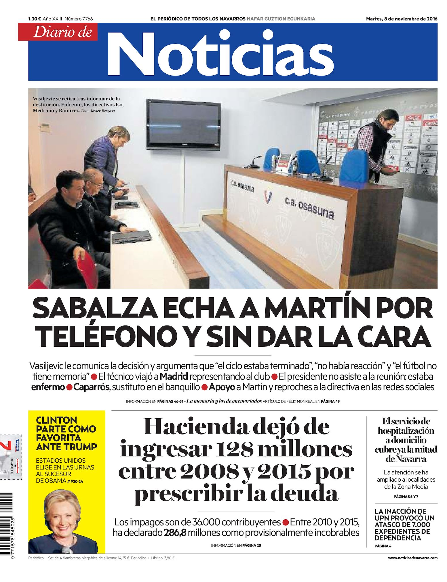 on sale f7812 6189b Calaméo - Diario de Noticias 20161108
