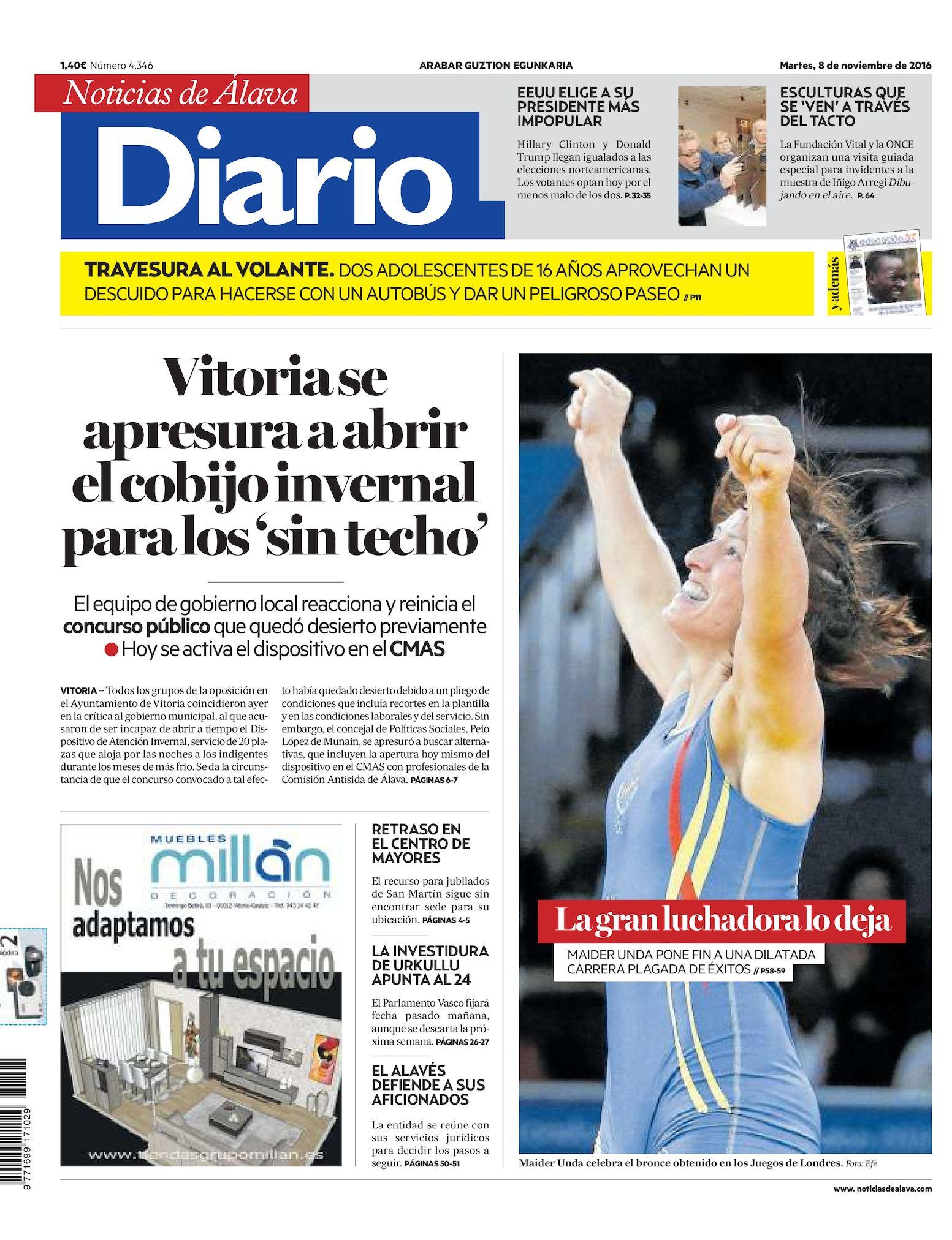 e9a8fedd01 Calaméo - Diario de Noticias de Álava 20161108