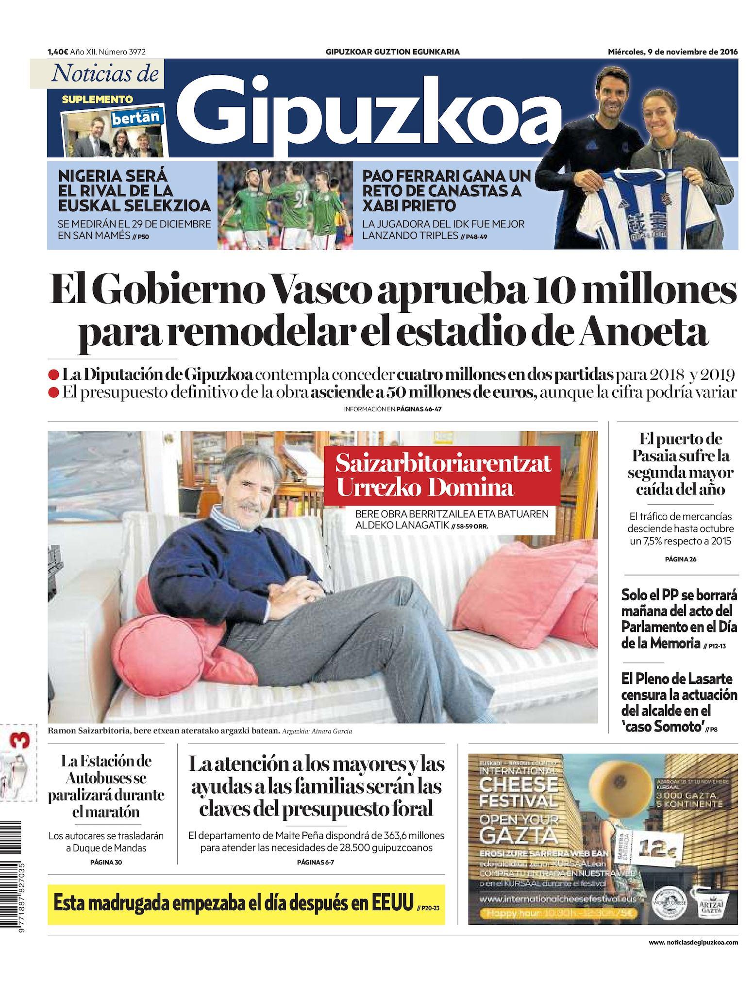 Calaméo Noticias de Gipuzkoa 20161109