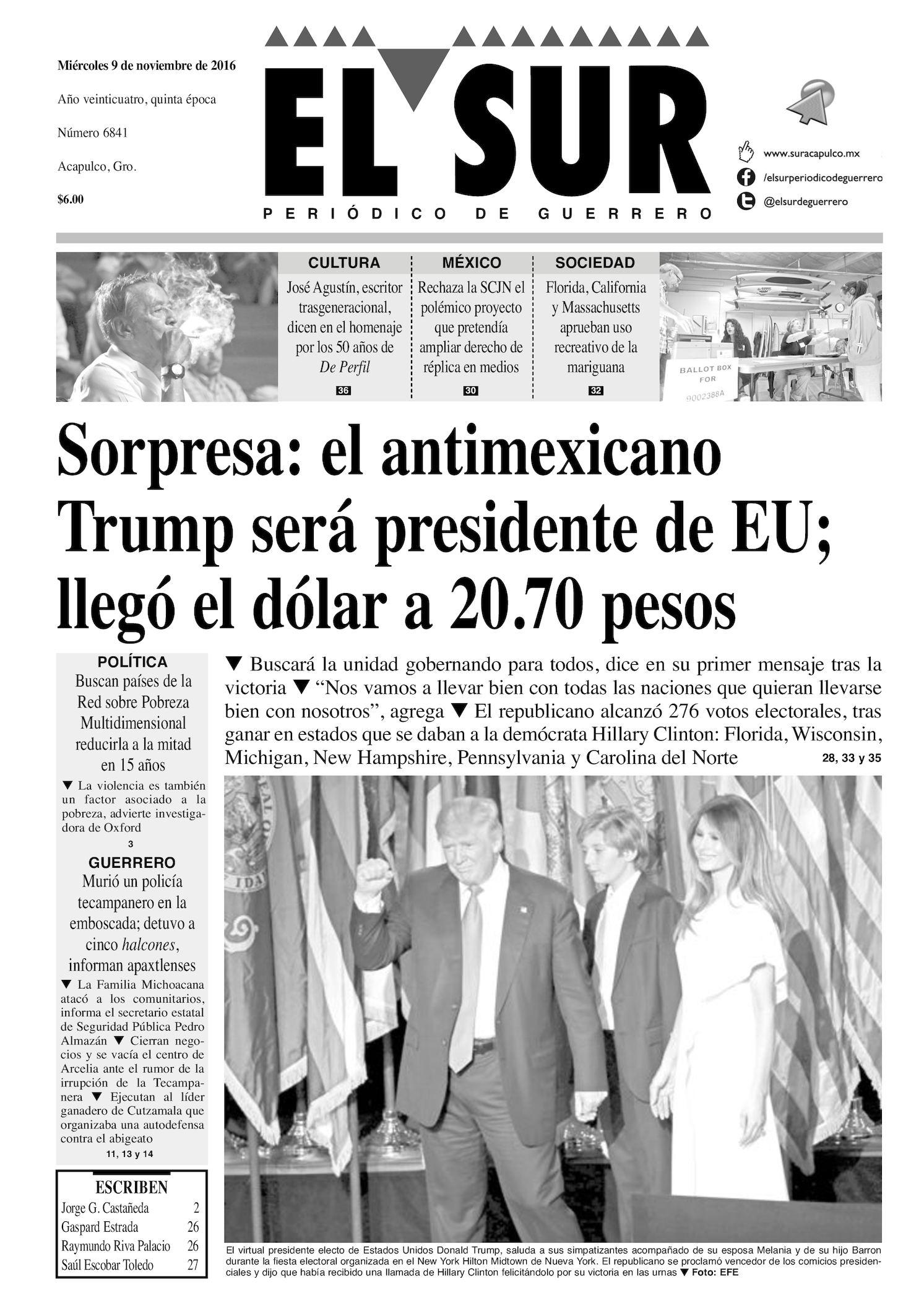 8b2c958c6 Calaméo - El Sur Miercoles 09112016