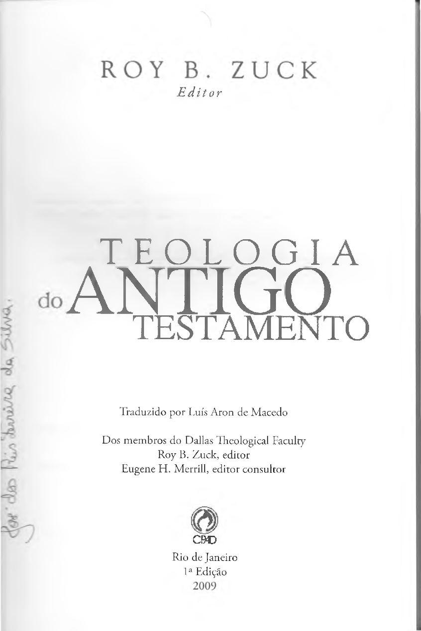Teologia Do Antigo Testamento Von Rad Pdf