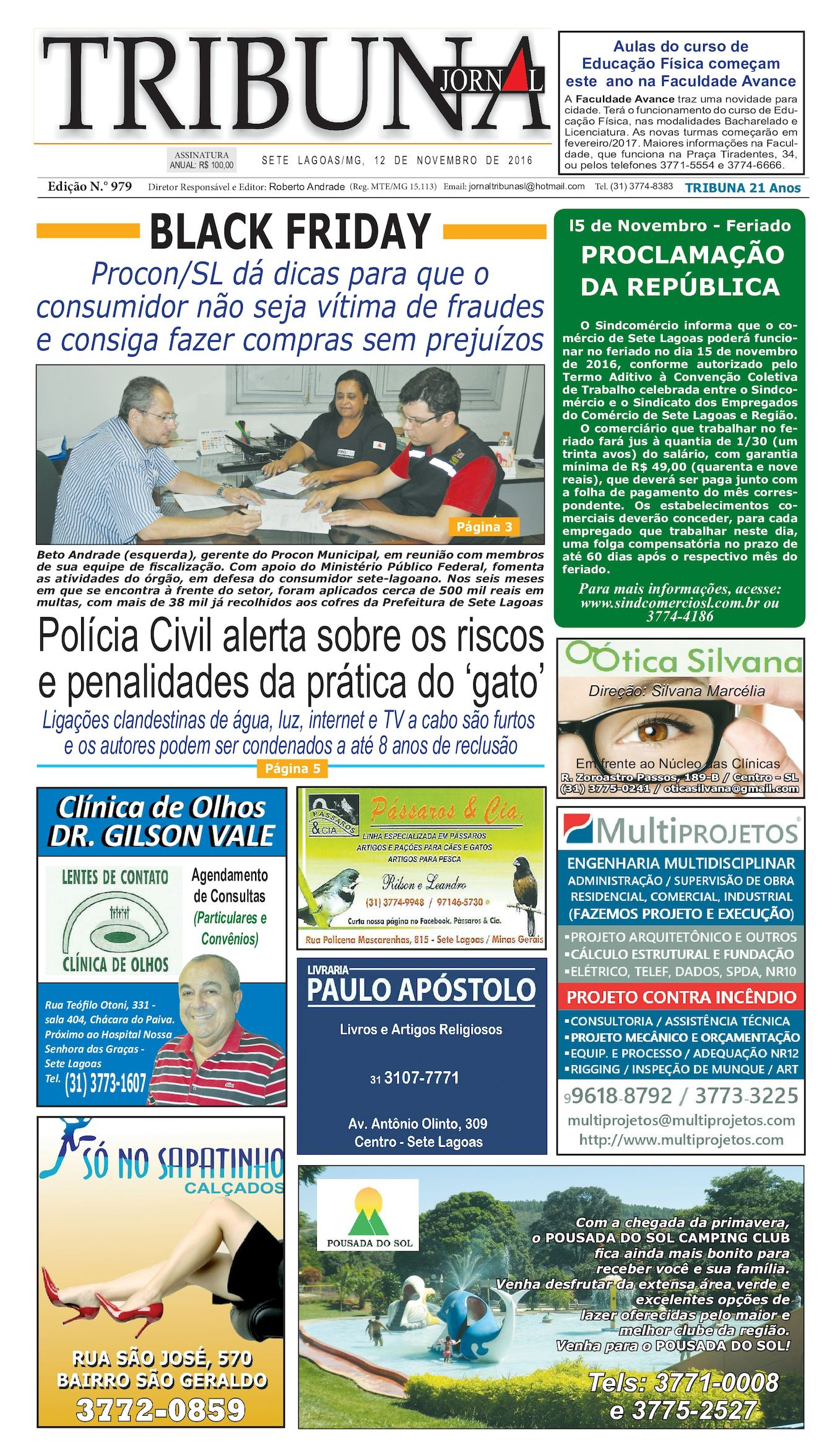 6b5619eb3c Calaméo - Jornal 979
