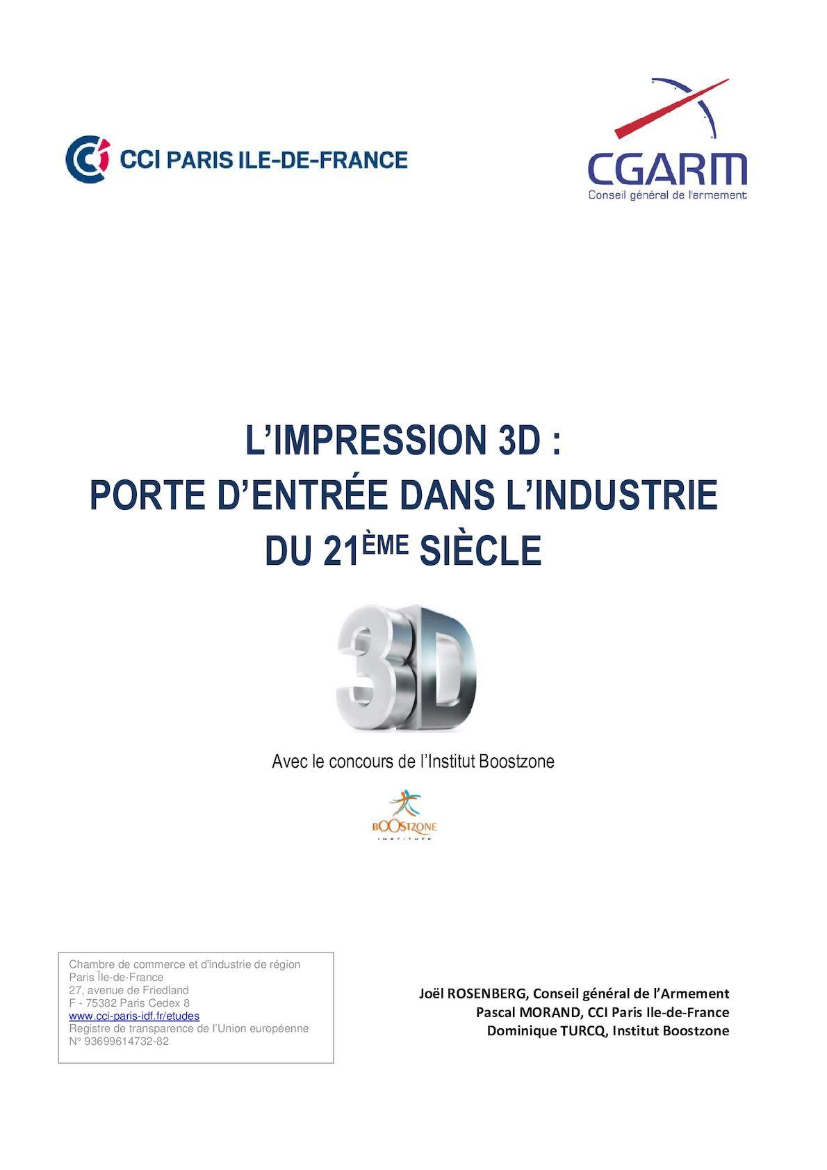 Calaméo - L impression 3D   porte d entrée dans l industrie du 21e siècle 97b67593c623