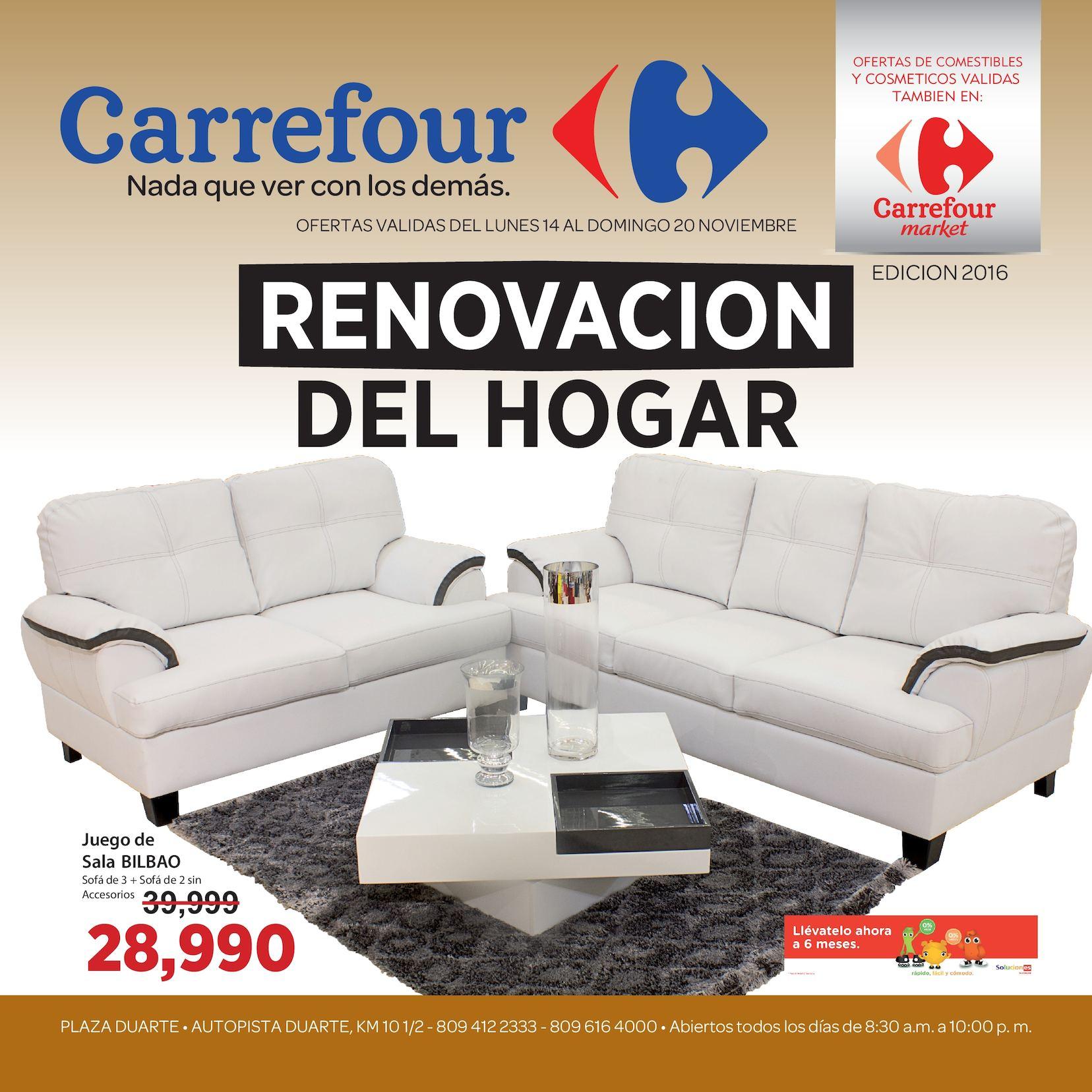 Calaméo - Encarte Carrefour RD – Renovación de muebles