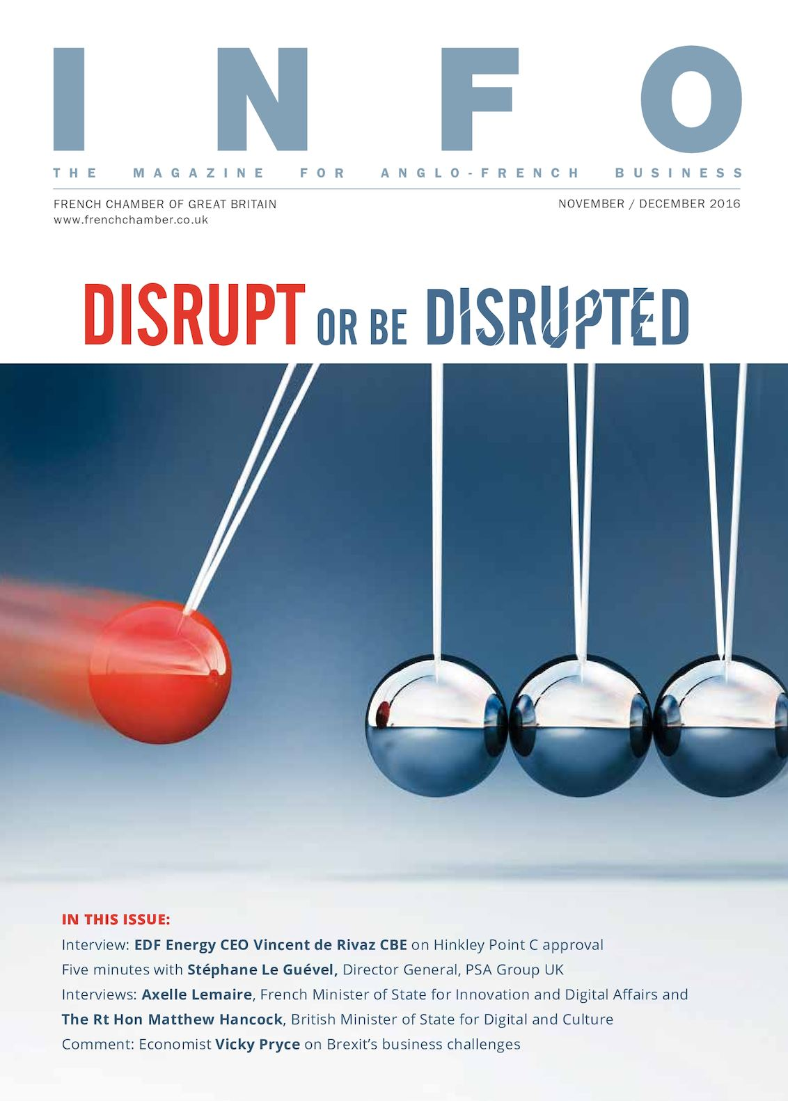 48819fc3a0 Calaméo - Disrupt or be Disrupted