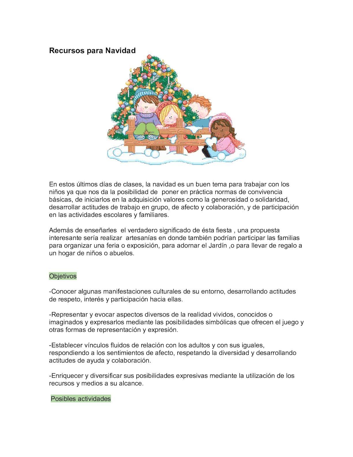 Calameo La Navidad De Los Ninos