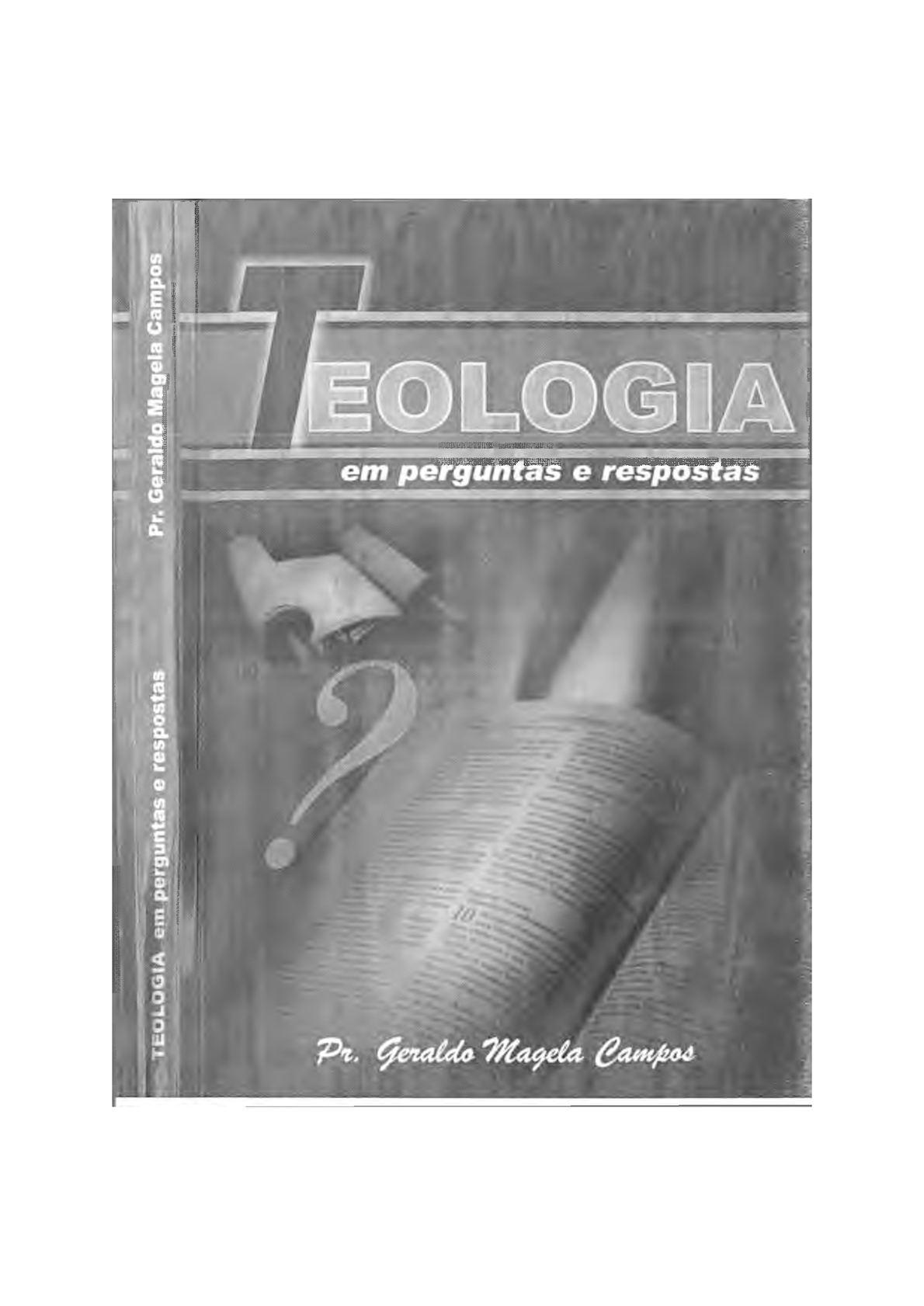 Teologia Biblica Sistematica Myer Pearlman Epub
